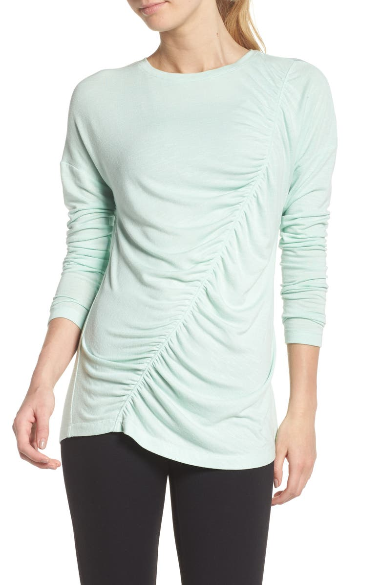 So Graceful Ruched Tee