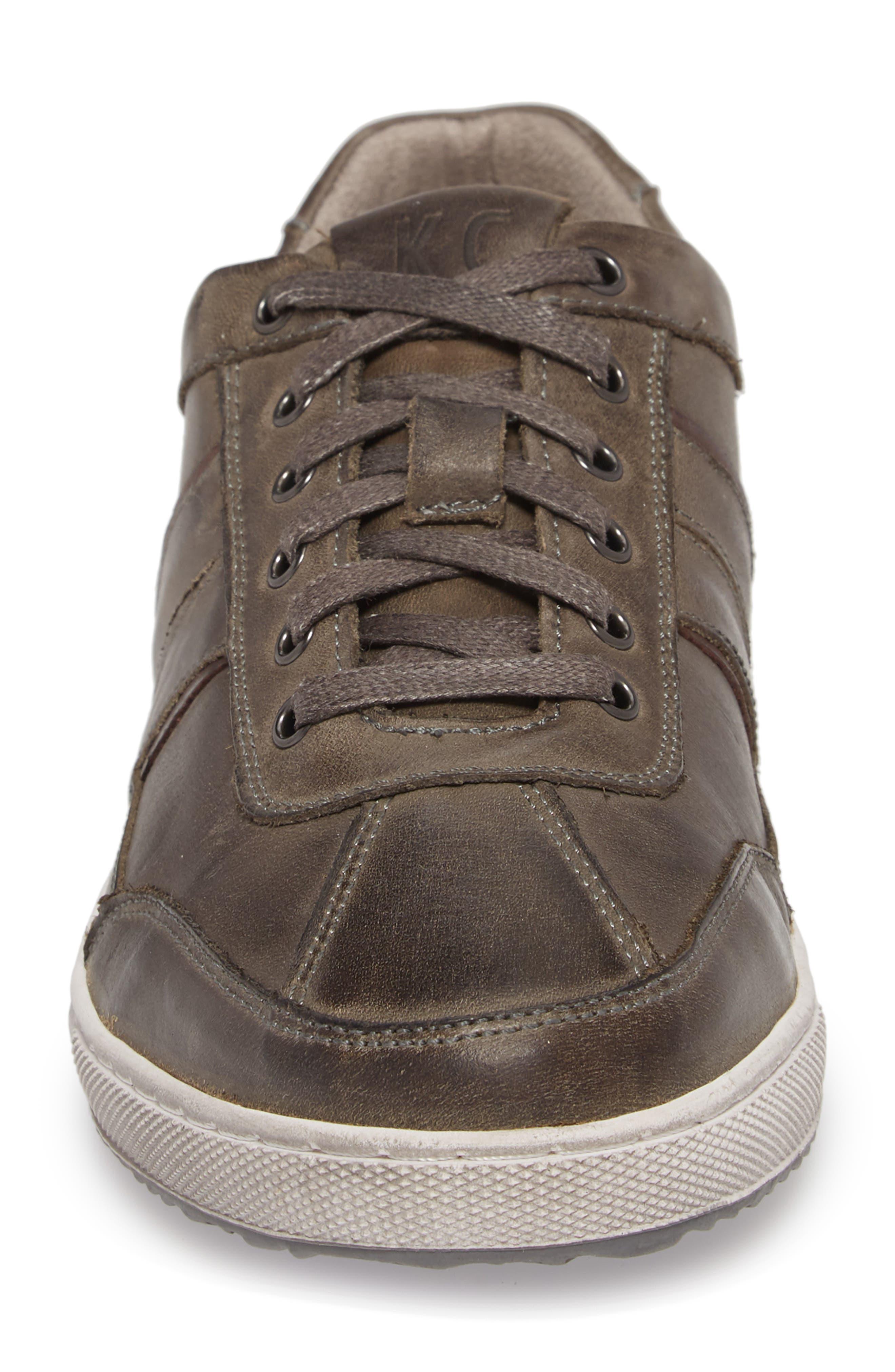 Sprinter Low Top Sneaker,                             Alternate thumbnail 4, color,                             Grey