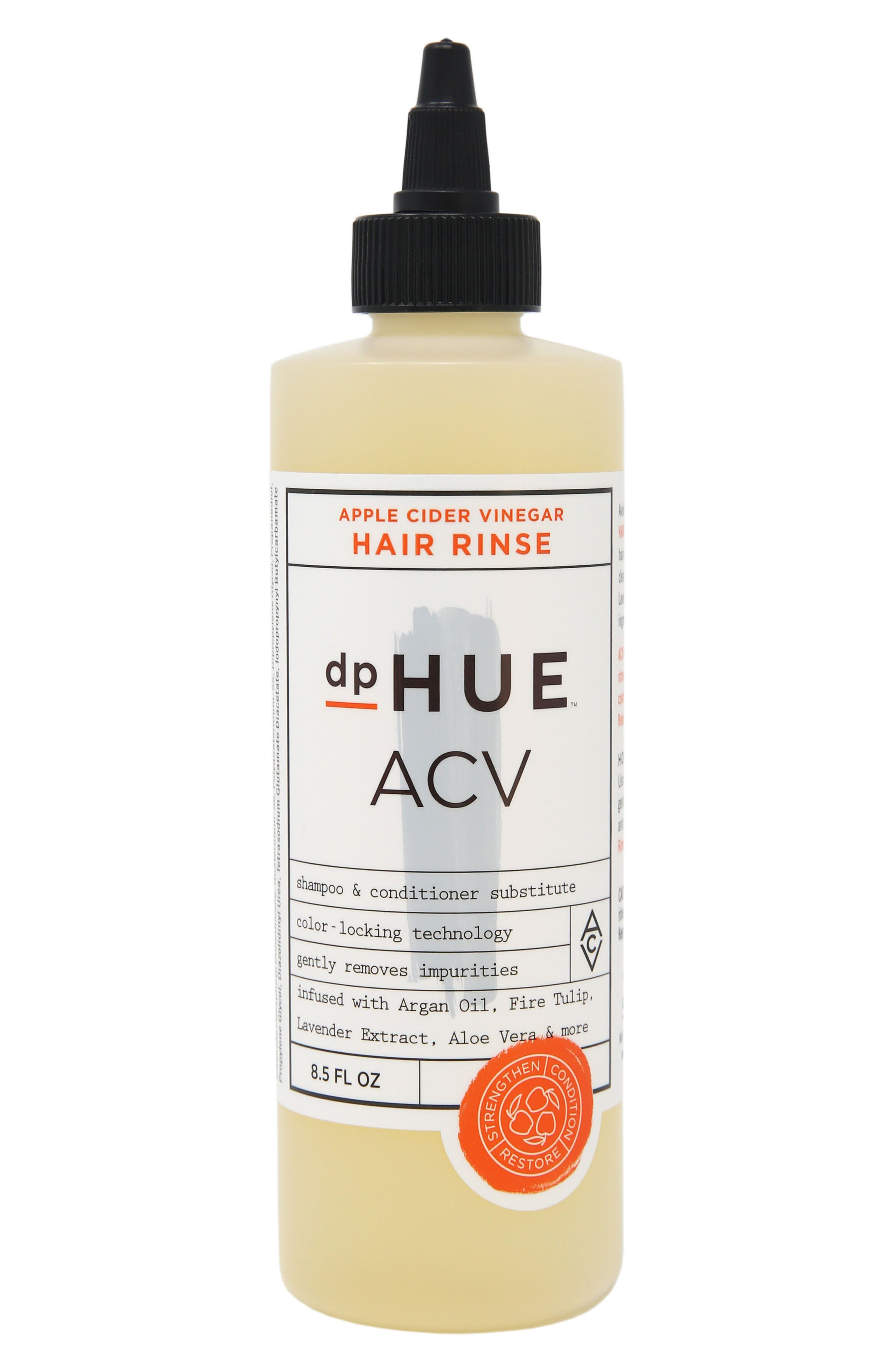 Apple Cider Vinegar Hair Rinse,                         Main,                         color, No Color