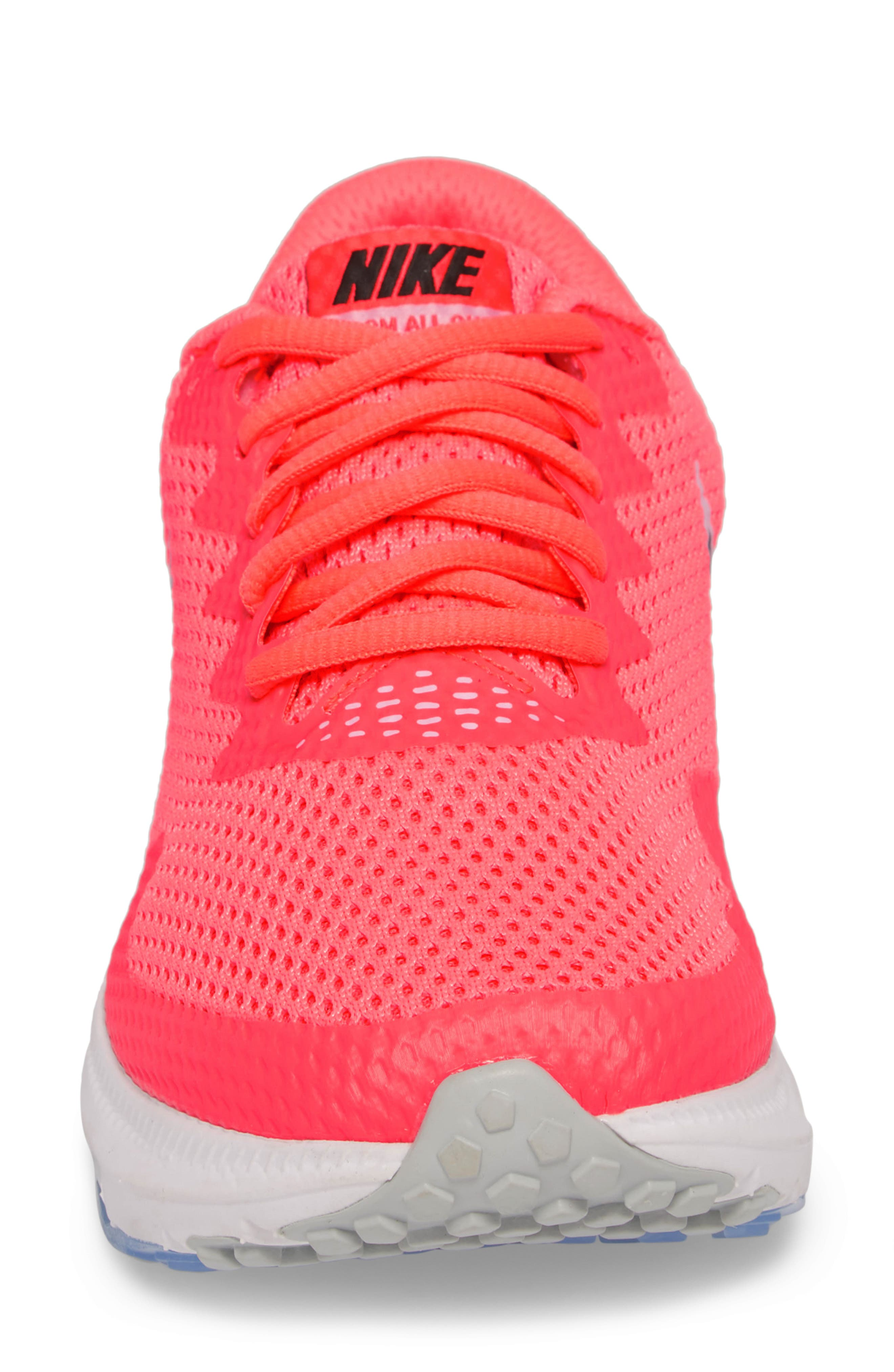 Zoom All Out Low 2 Running Shoe,                             Alternate thumbnail 3, color,                             Hot Punch/ Black