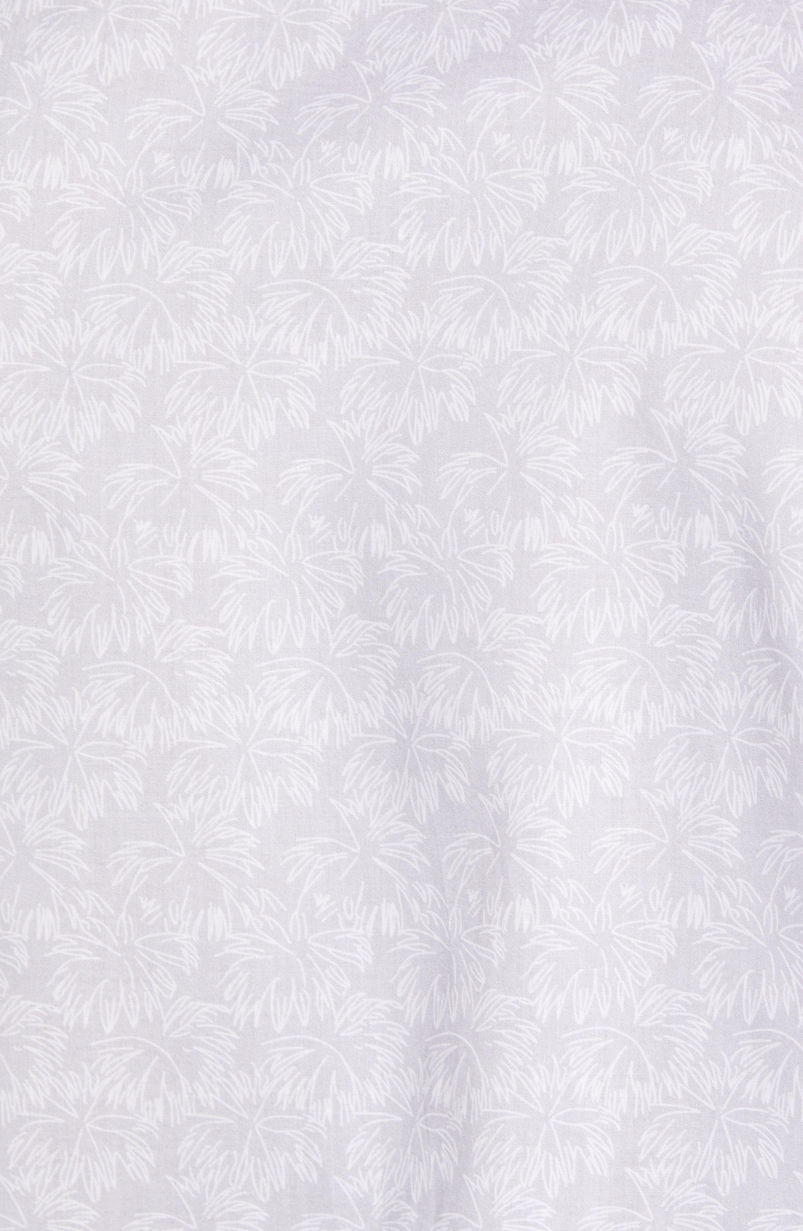 Slenske Trim Fit Sport Shirt,                             Alternate thumbnail 5, color,                             Light Grey