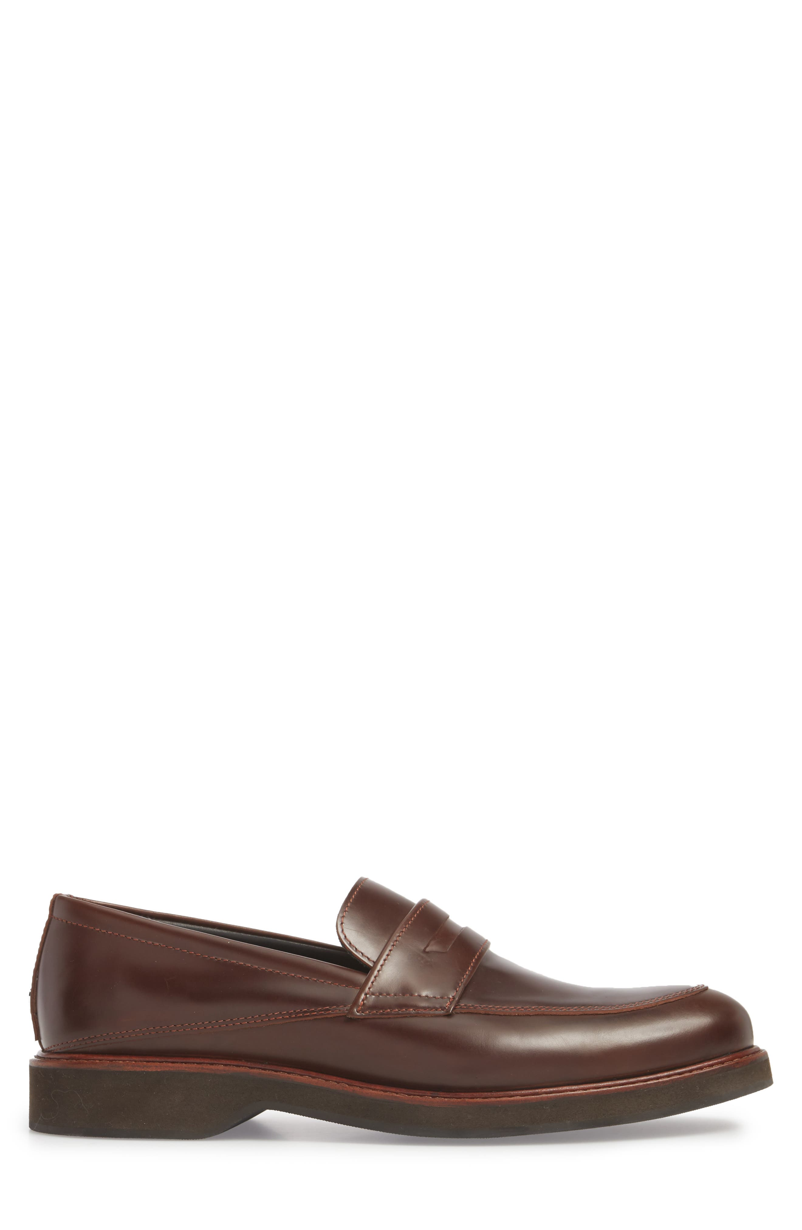 'Marcos' Loafer,                             Alternate thumbnail 3, color,                             Multi Brown/ Brown