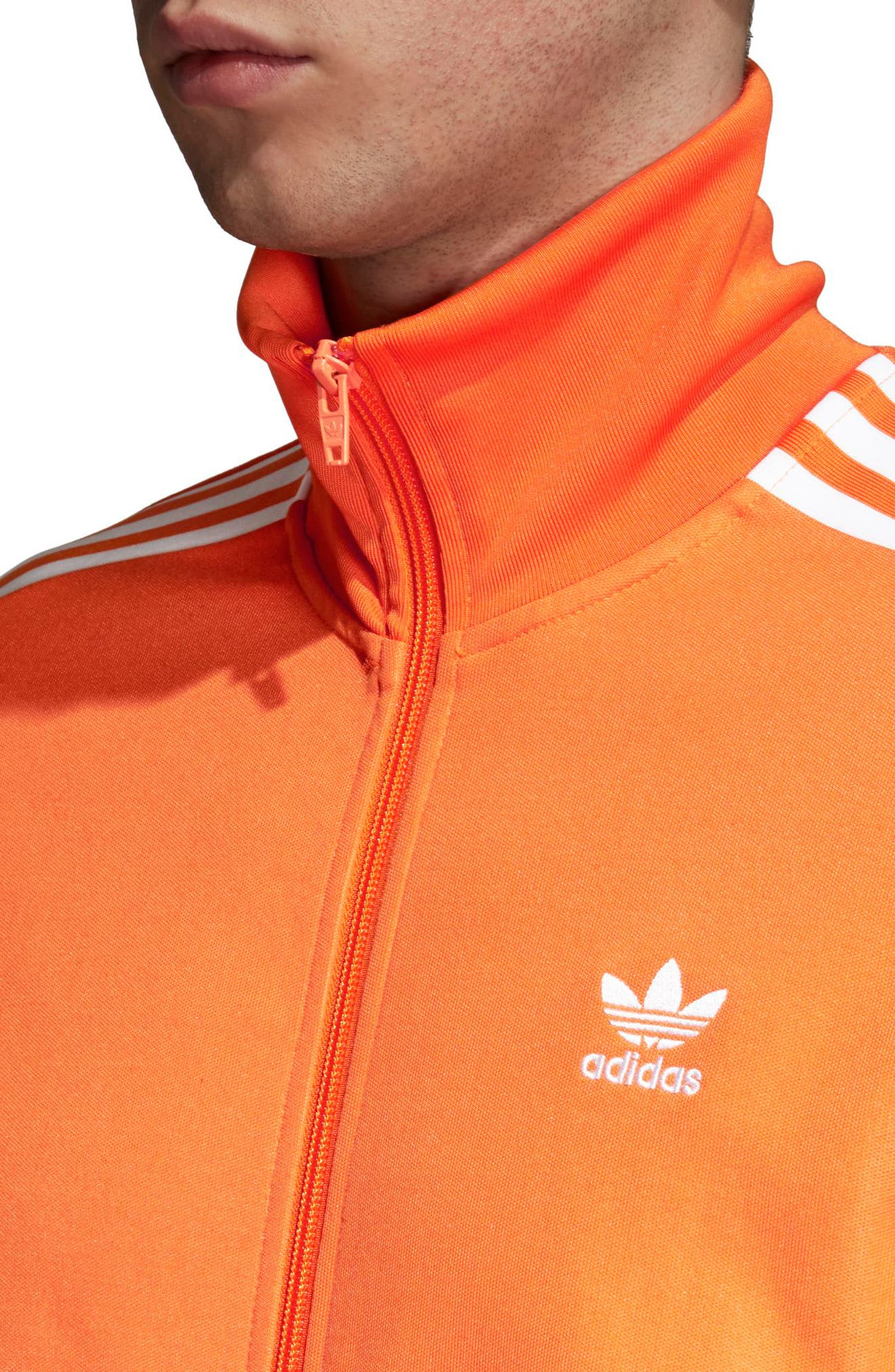 BB Track Jacket,                             Alternate thumbnail 4, color,                             Bright Orange