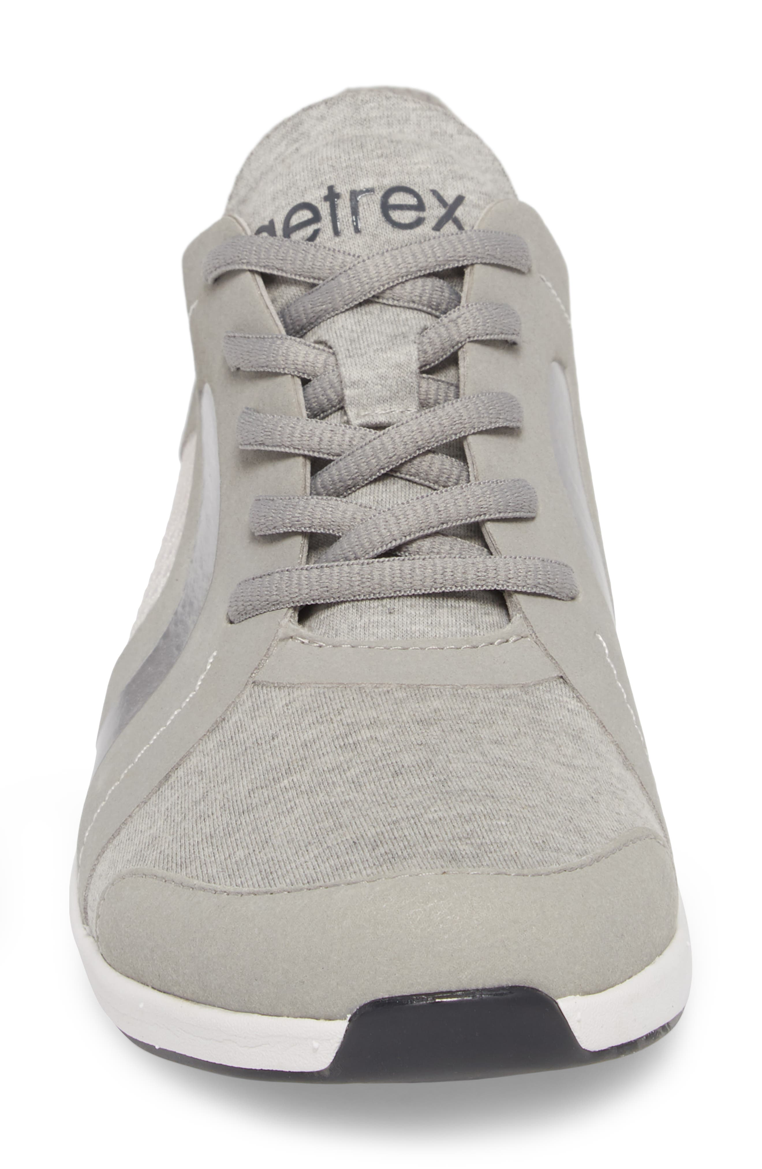 Sloane Sneaker,                             Alternate thumbnail 4, color,                             Grey Fabric