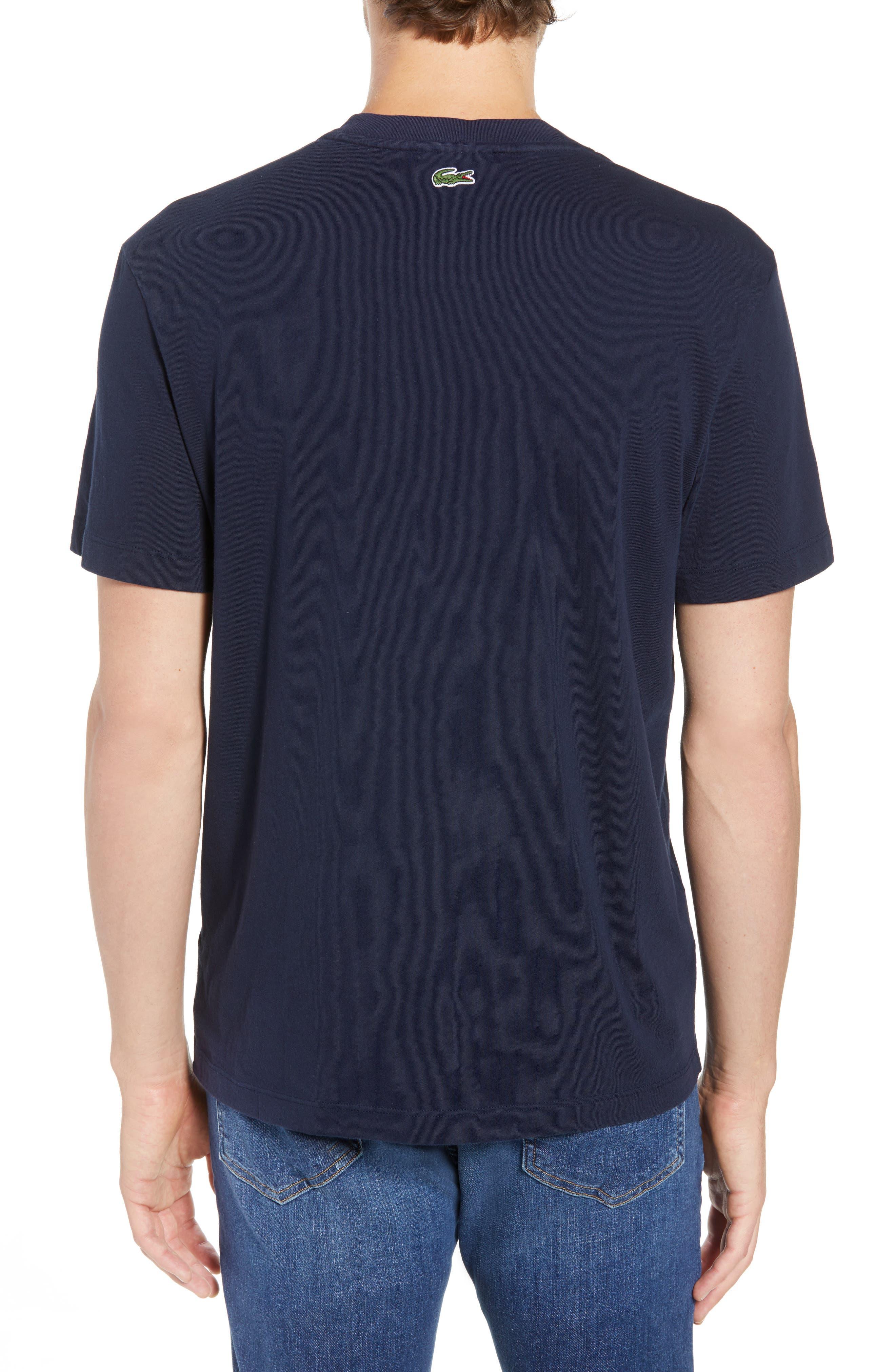 Graphic T-Shirt,                             Alternate thumbnail 2, color,                             Navy Blue