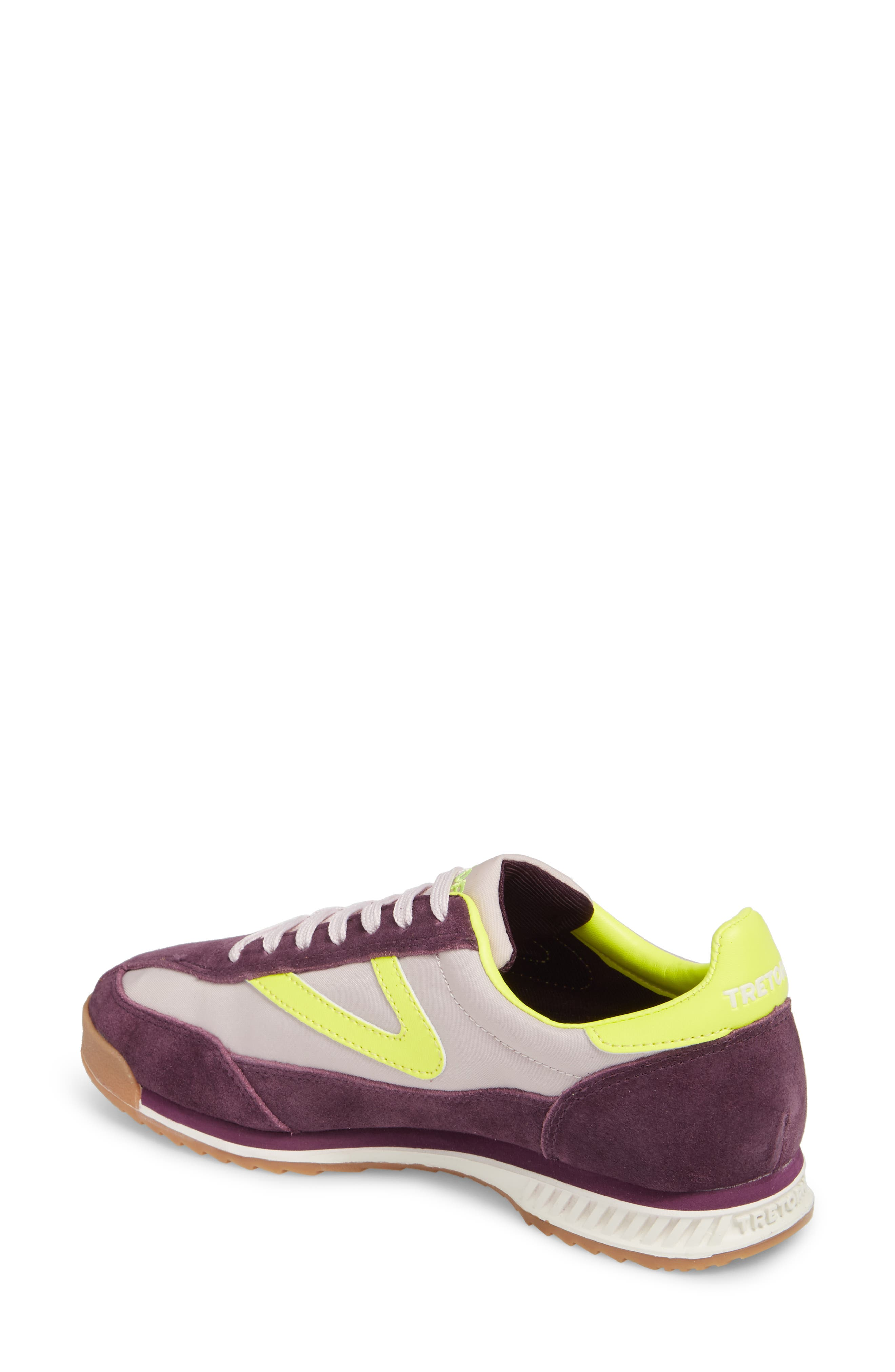 Rawlins 2 Sneaker,                             Alternate thumbnail 2, color,                             Eggplant/ Summer Lilac/ Yellow