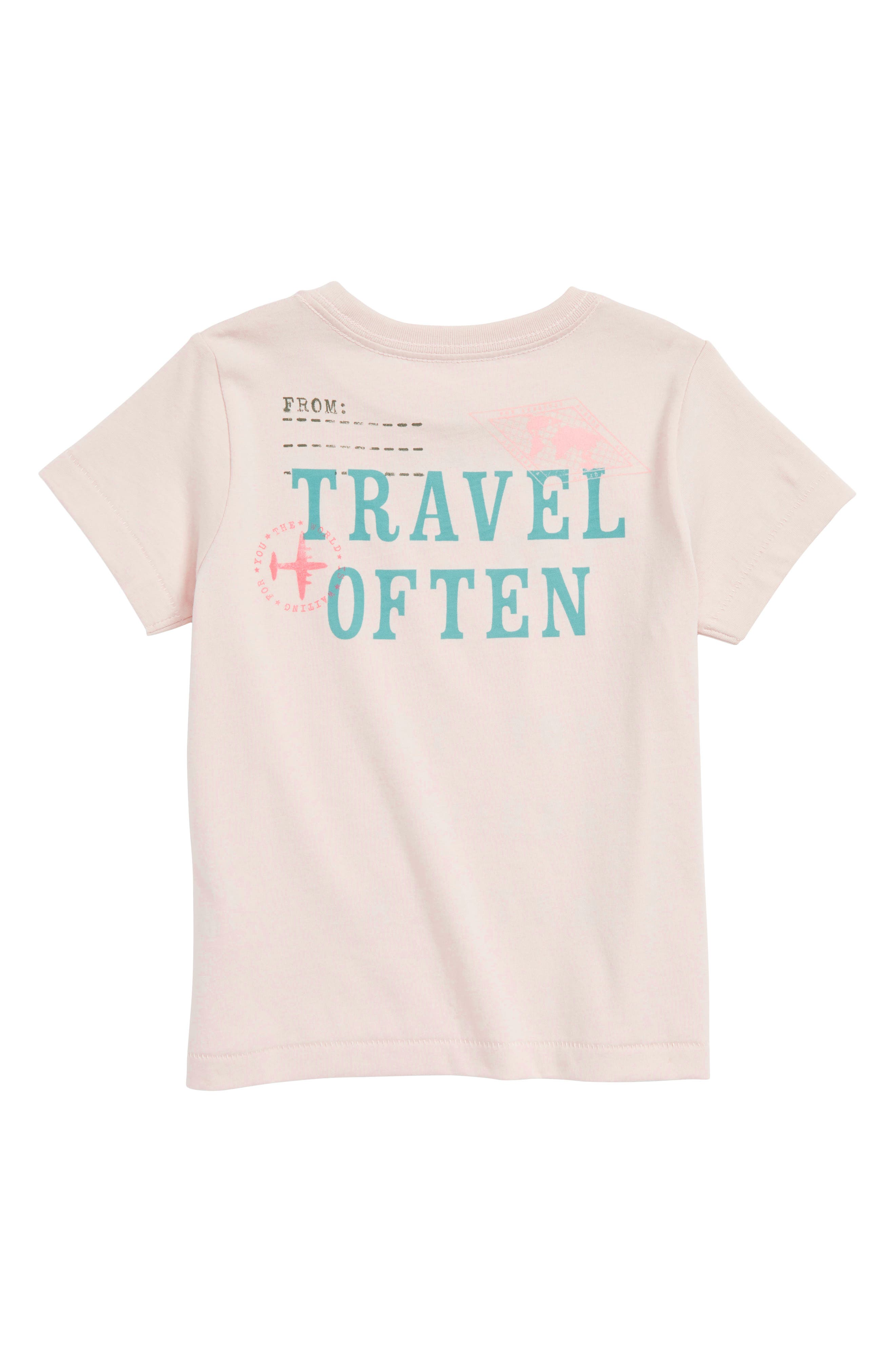 The Journey Graphic Tee,                             Alternate thumbnail 2, color,                             Ivory