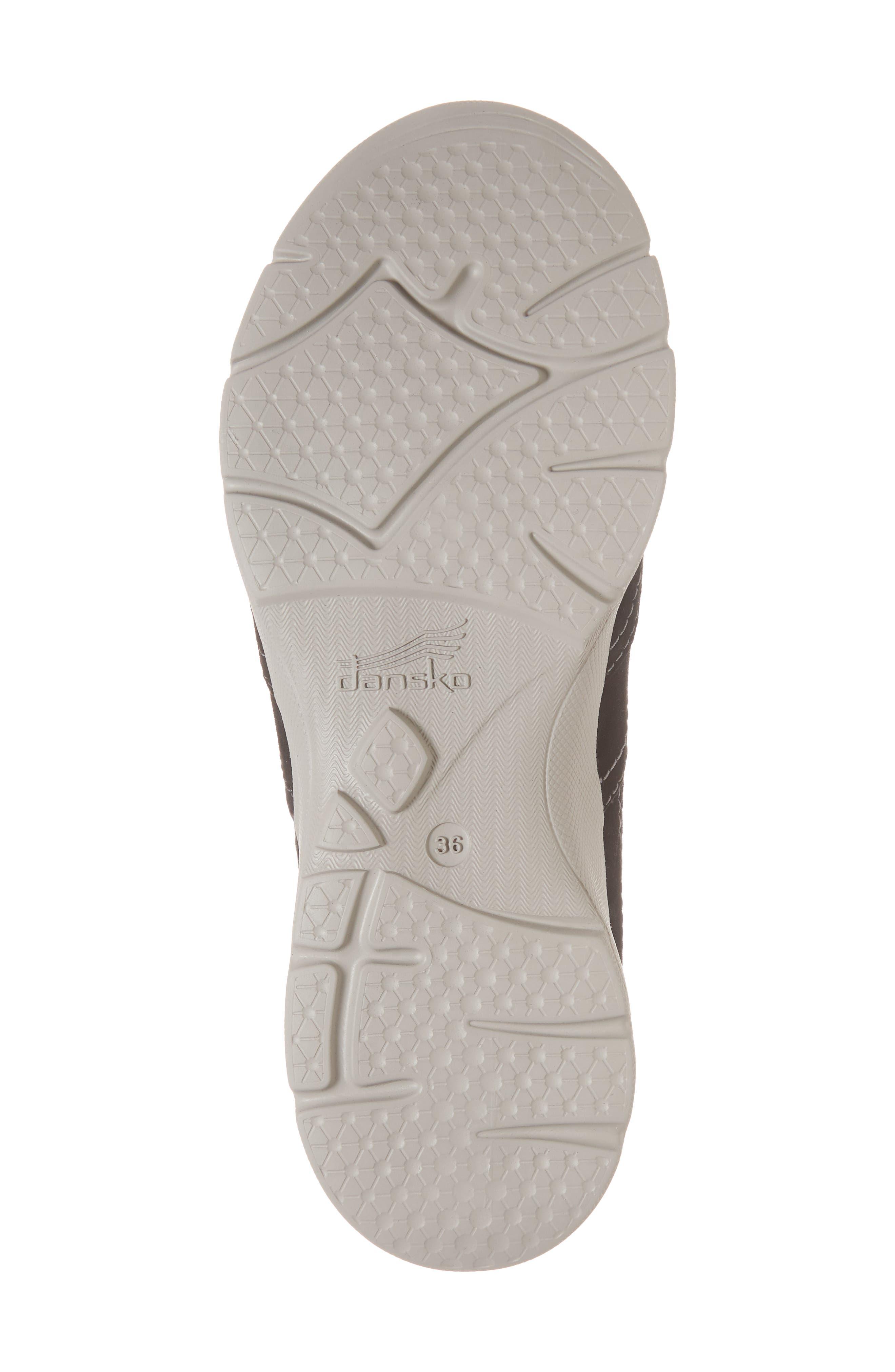 Alice Slip-On Sneaker,                             Alternate thumbnail 4, color,                             Black Suede
