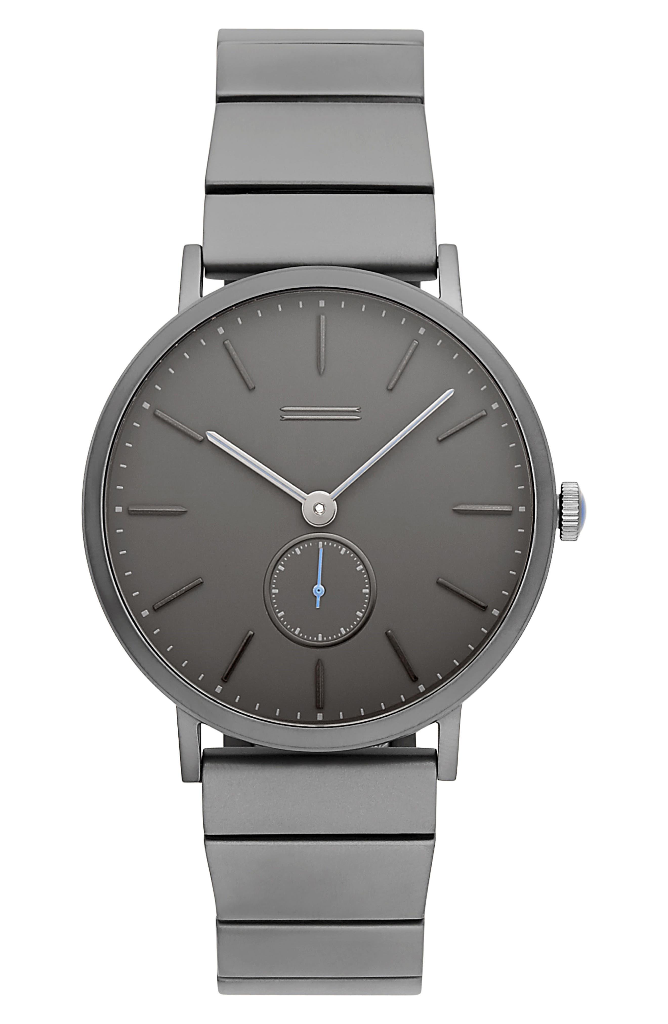 URI MINKOFF Norrebro Bracelet Watch, 40Mm in Grey