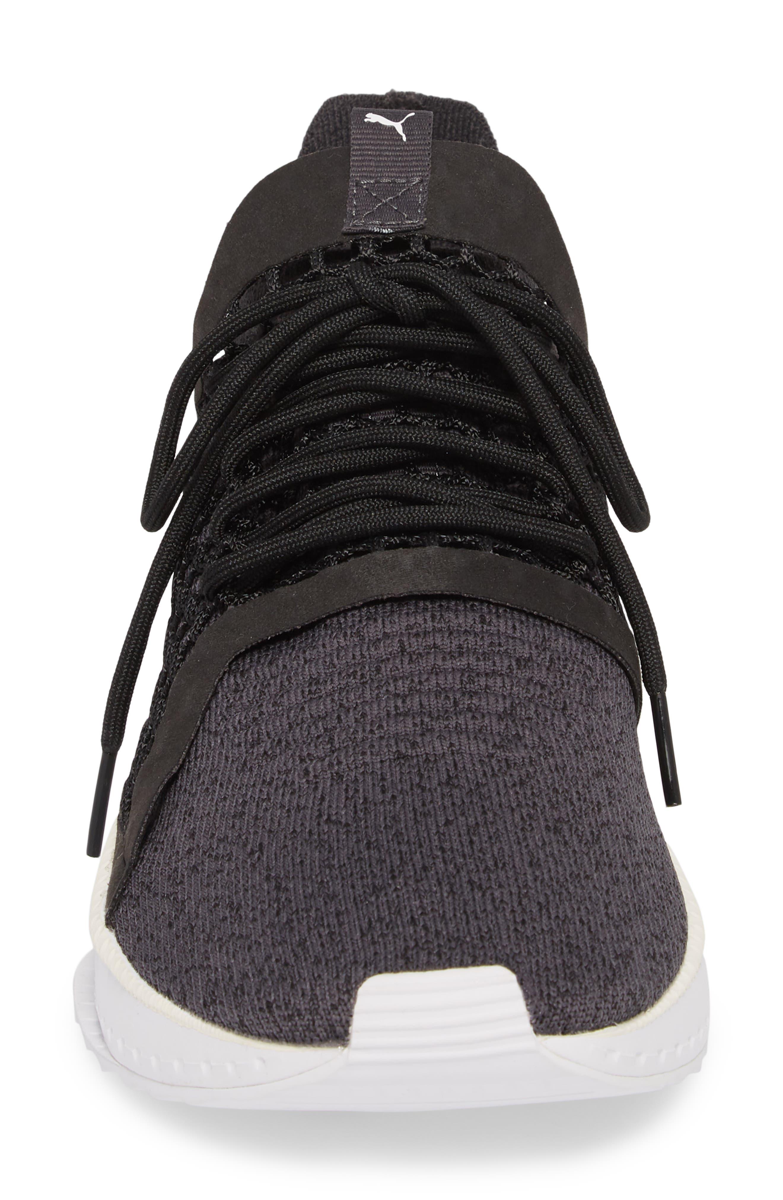 Tsugi Netfit V2 EvoKNIT Sneaker,                             Alternate thumbnail 6, color,                             Black/ Asphalt/ White