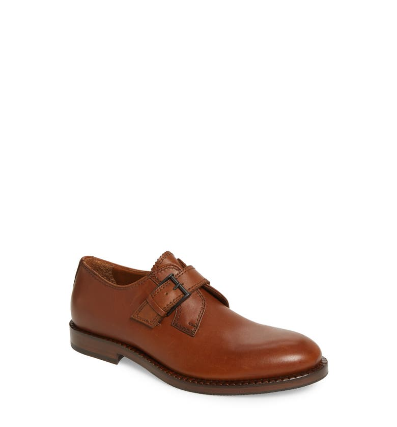 Jamal Weatherproof Single Monk Strap Shoe