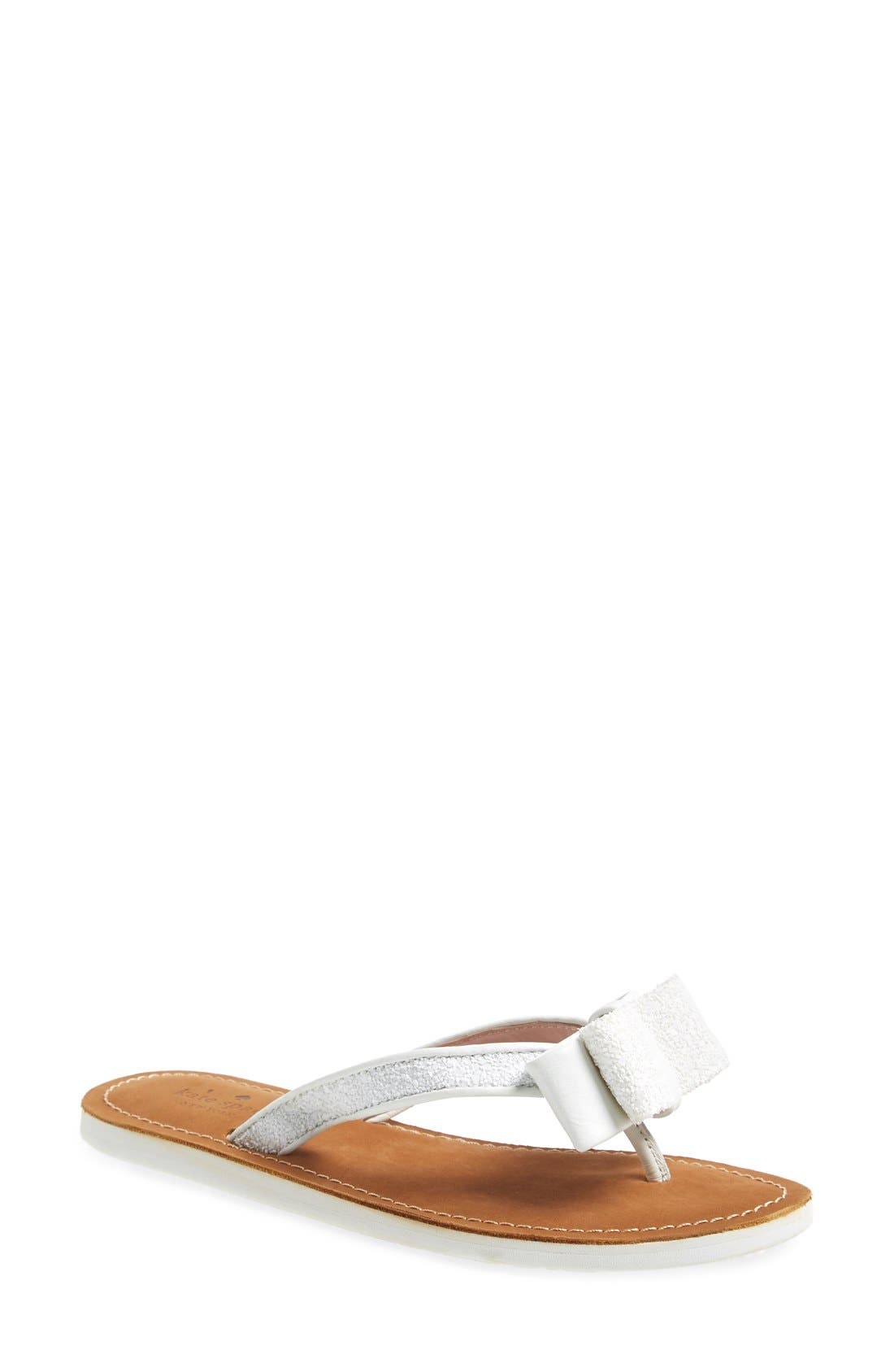 Alternate Image 1 Selected - kate spade new york 'icarda' glitter flip flop (Women)