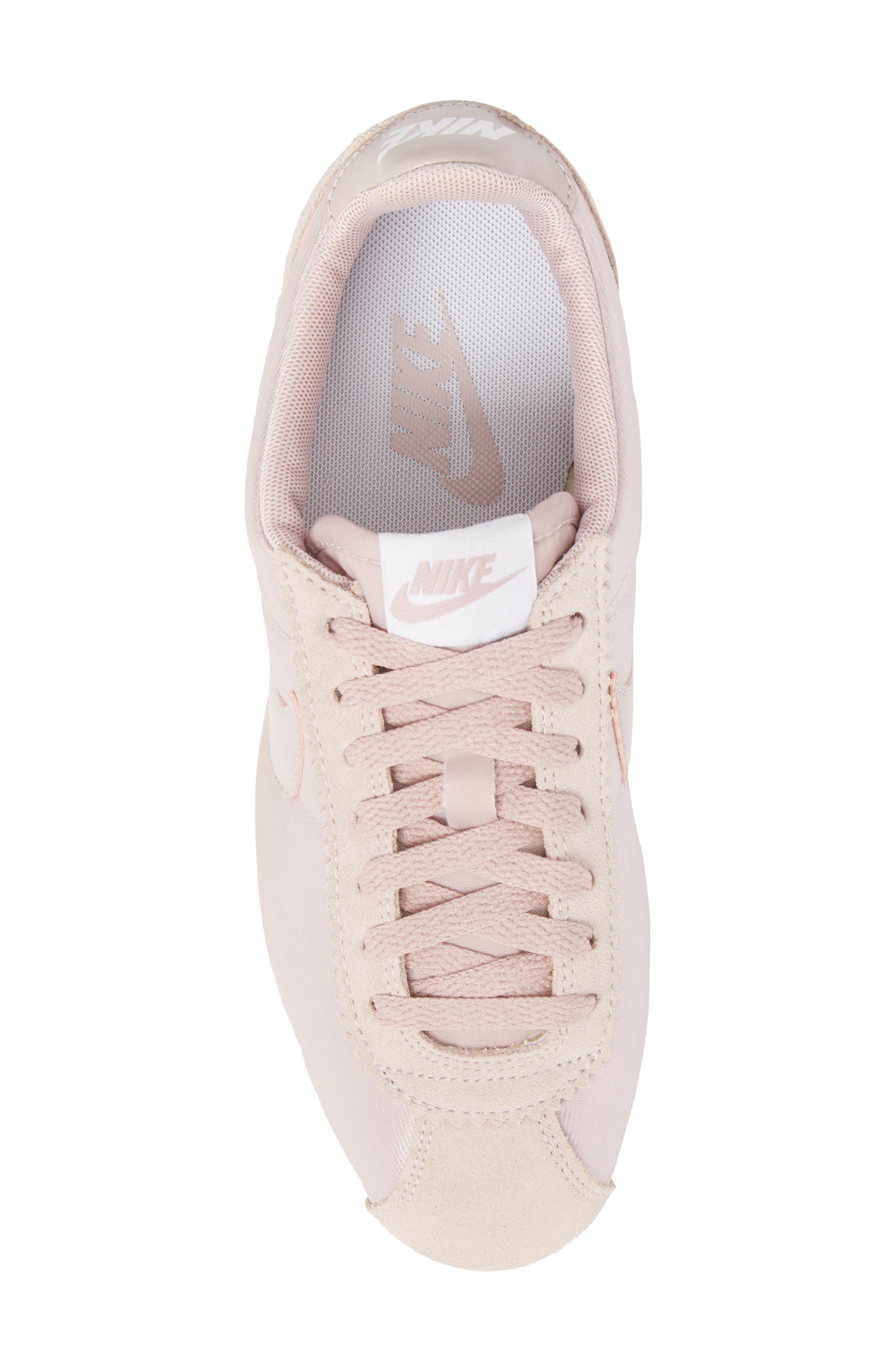 'Classic Cortez' Sneaker,                             Alternate thumbnail 5, color,                             Particle Rose/ Particle Rose