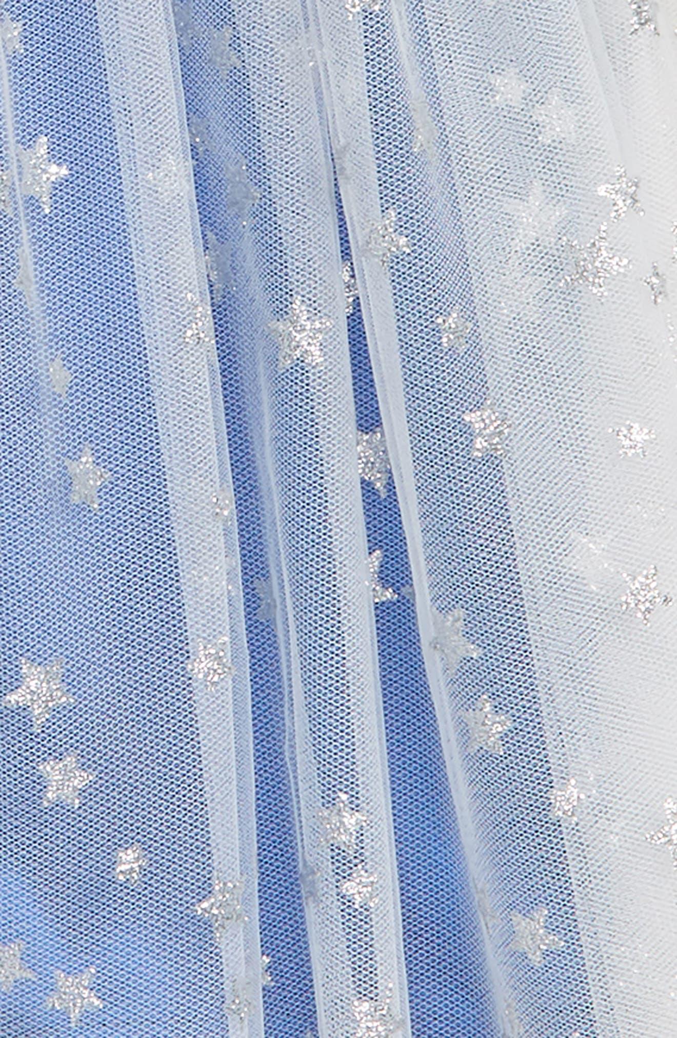Star Tutu Skorts,                             Alternate thumbnail 2, color,                             Blue Multi
