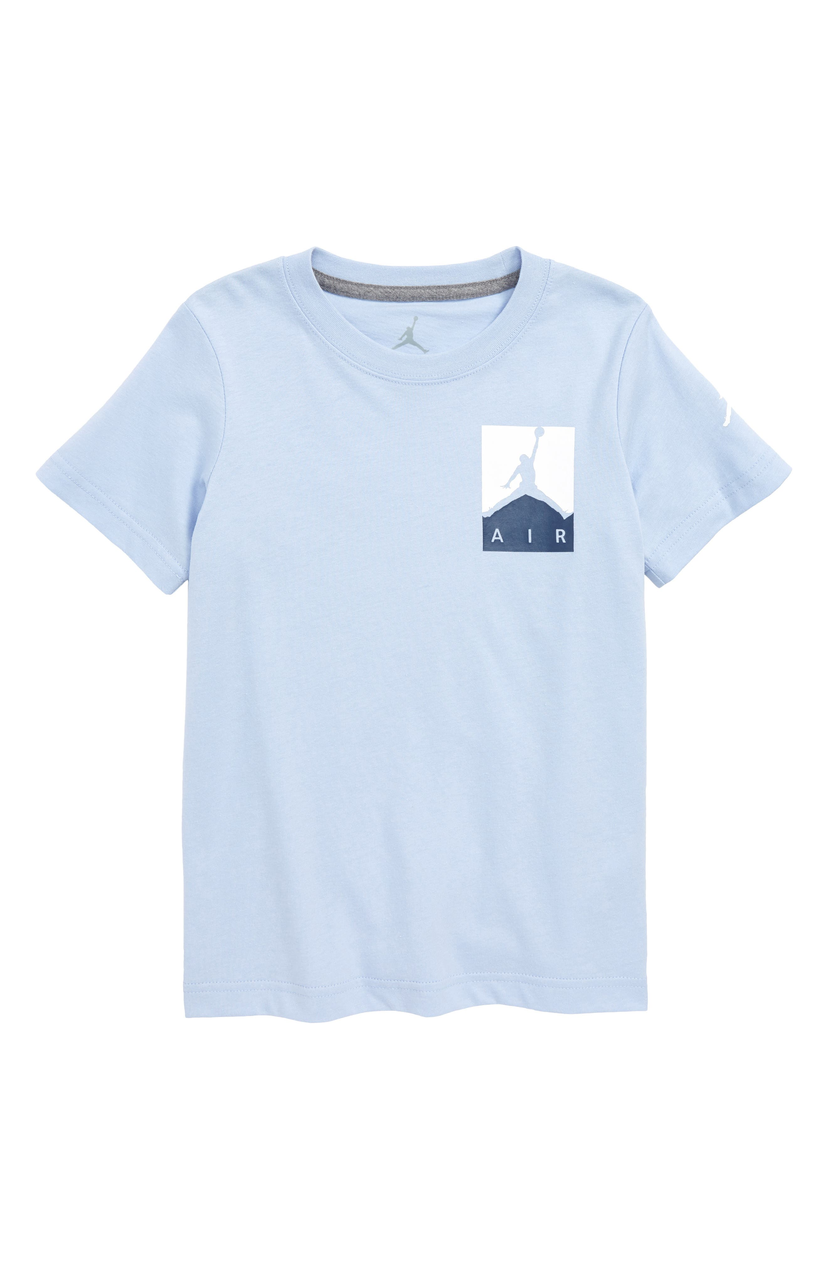 Nike Jordan Racked Up Graphic T-Shirt,                             Main thumbnail 1, color,                             Cobalt Bliss