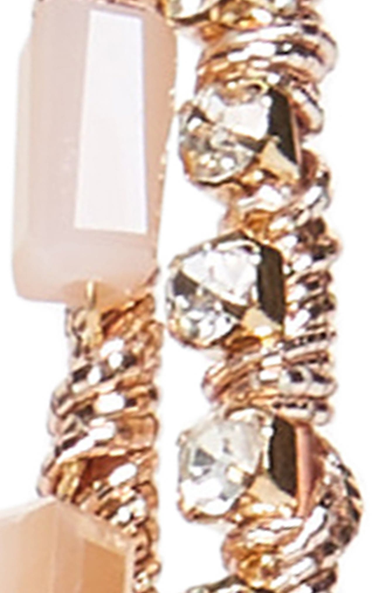Embellished Double Headband,                             Alternate thumbnail 2, color,                             Gold