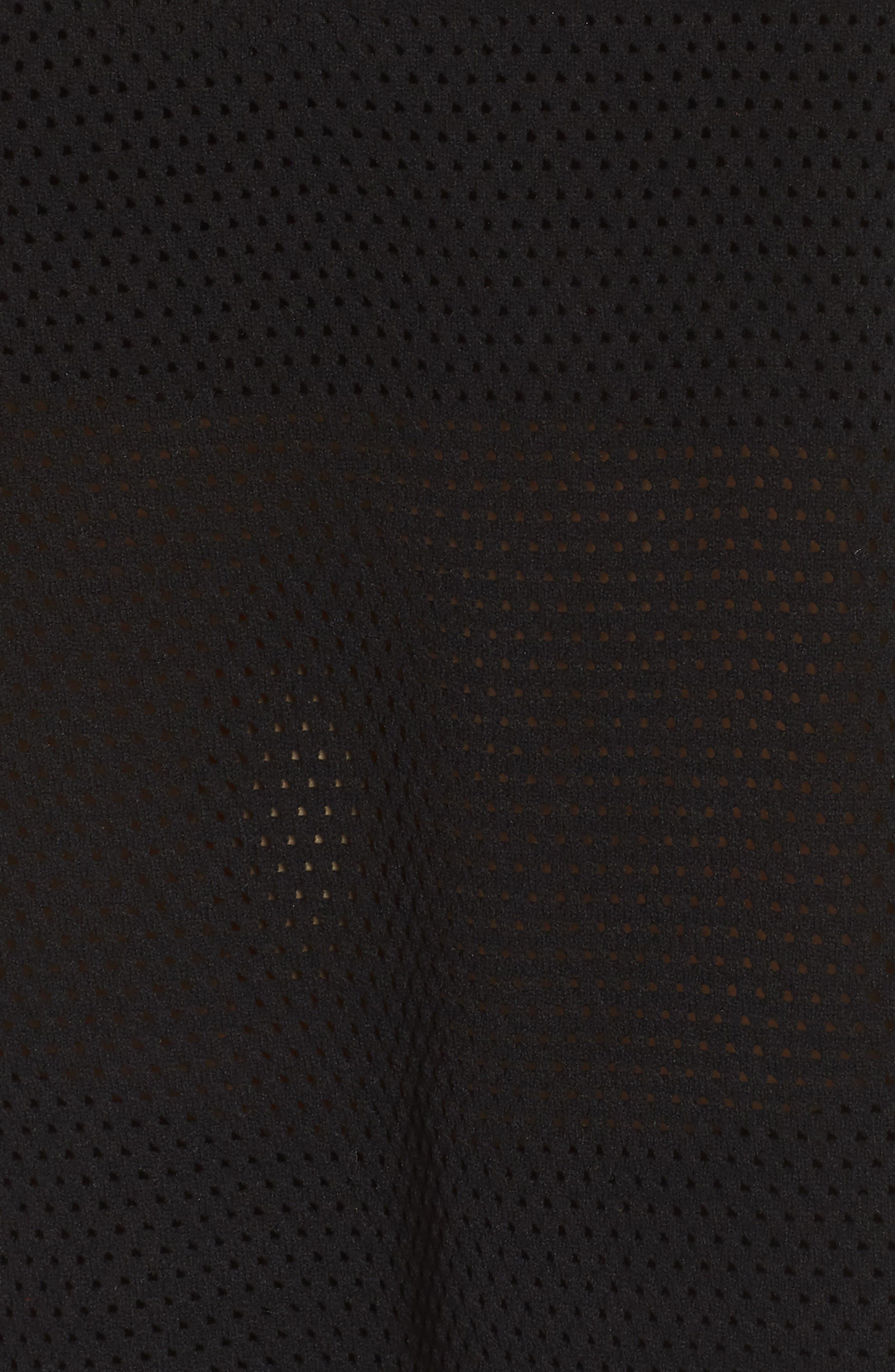 Originals AA-42 Knit Tee,                             Alternate thumbnail 6, color,                             Black / Flash Red