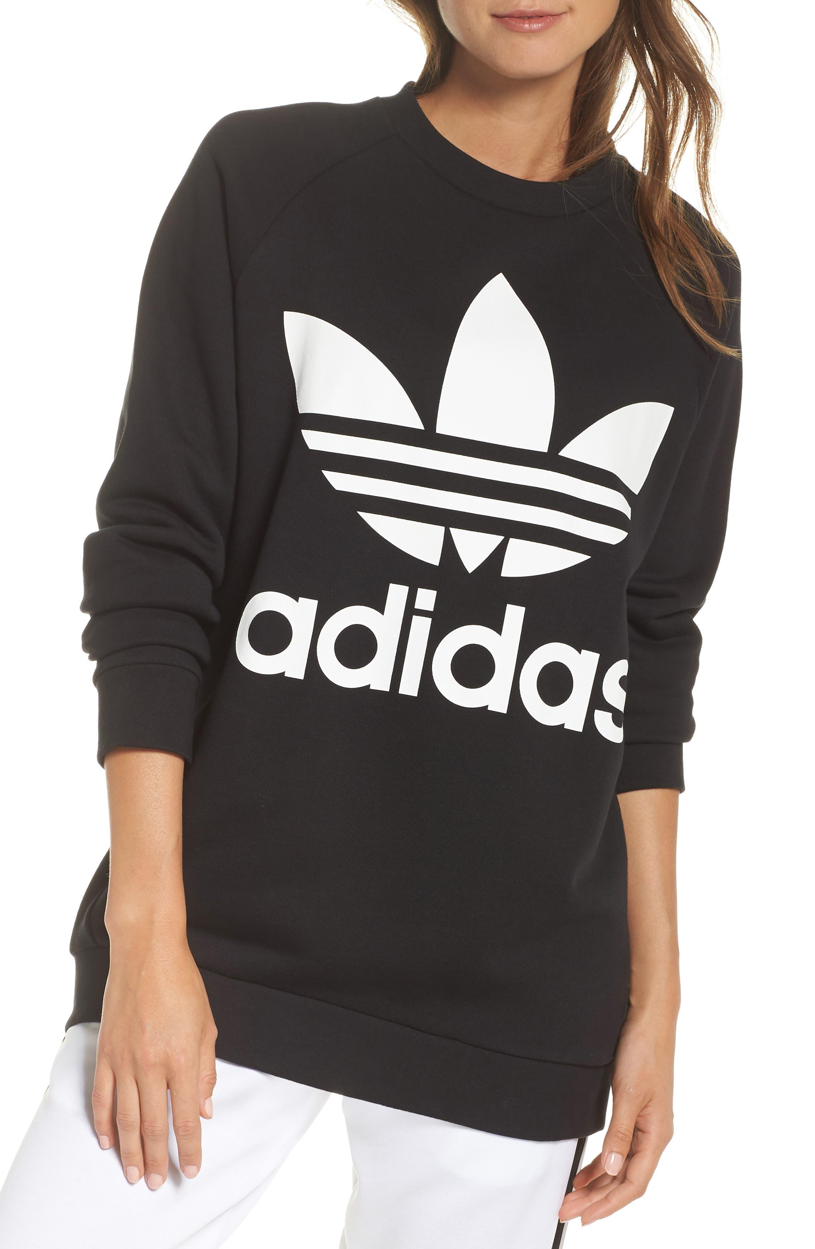 Originals Oversize Sweatshirt,                         Main,                         color, Black