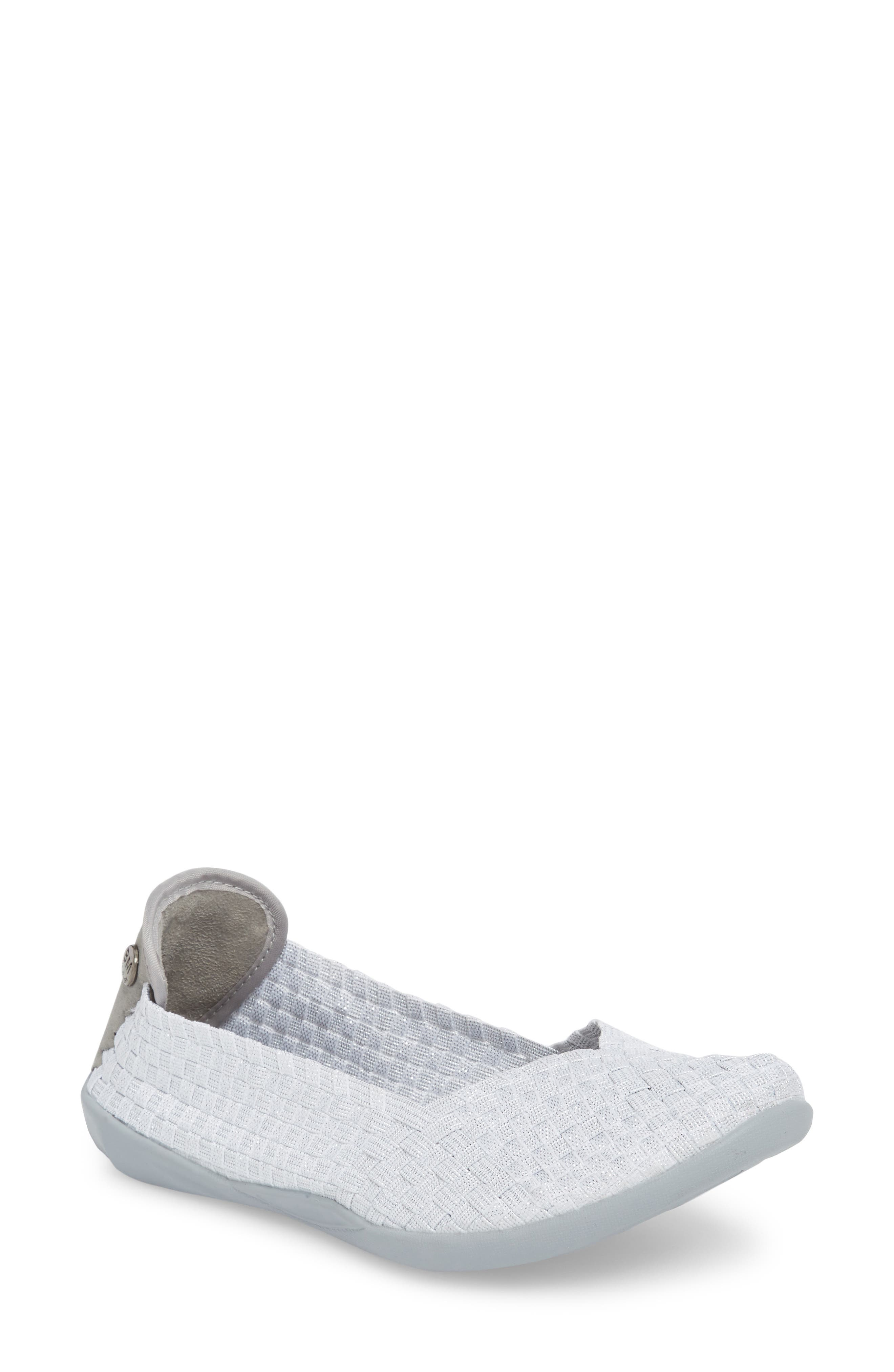 Catwalk Sneaker,                             Main thumbnail 1, color,                             White Shimmer Fabric