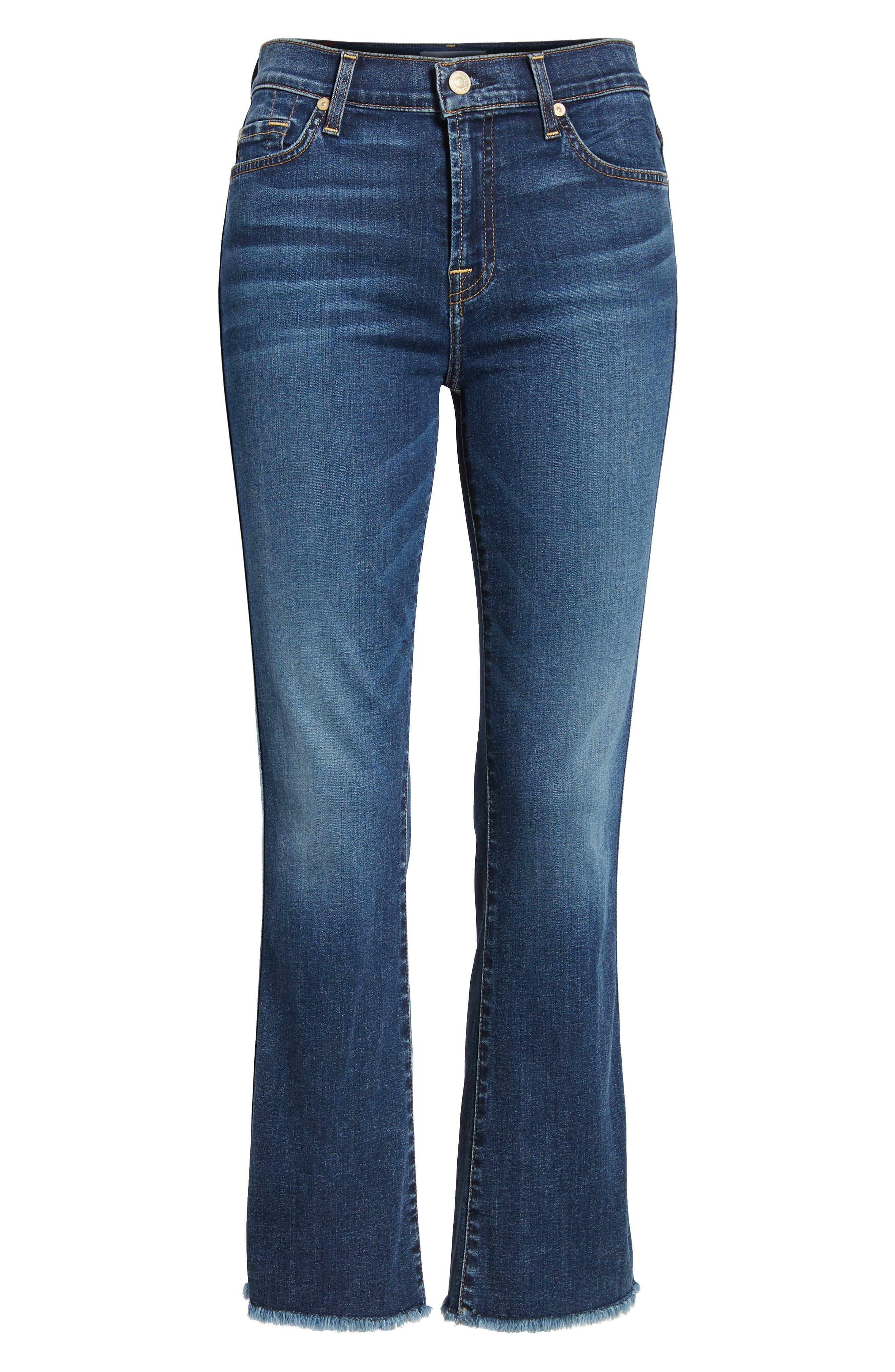 b(air) Crop Bootcut Jeans,                             Alternate thumbnail 7, color,                             B Air Echo
