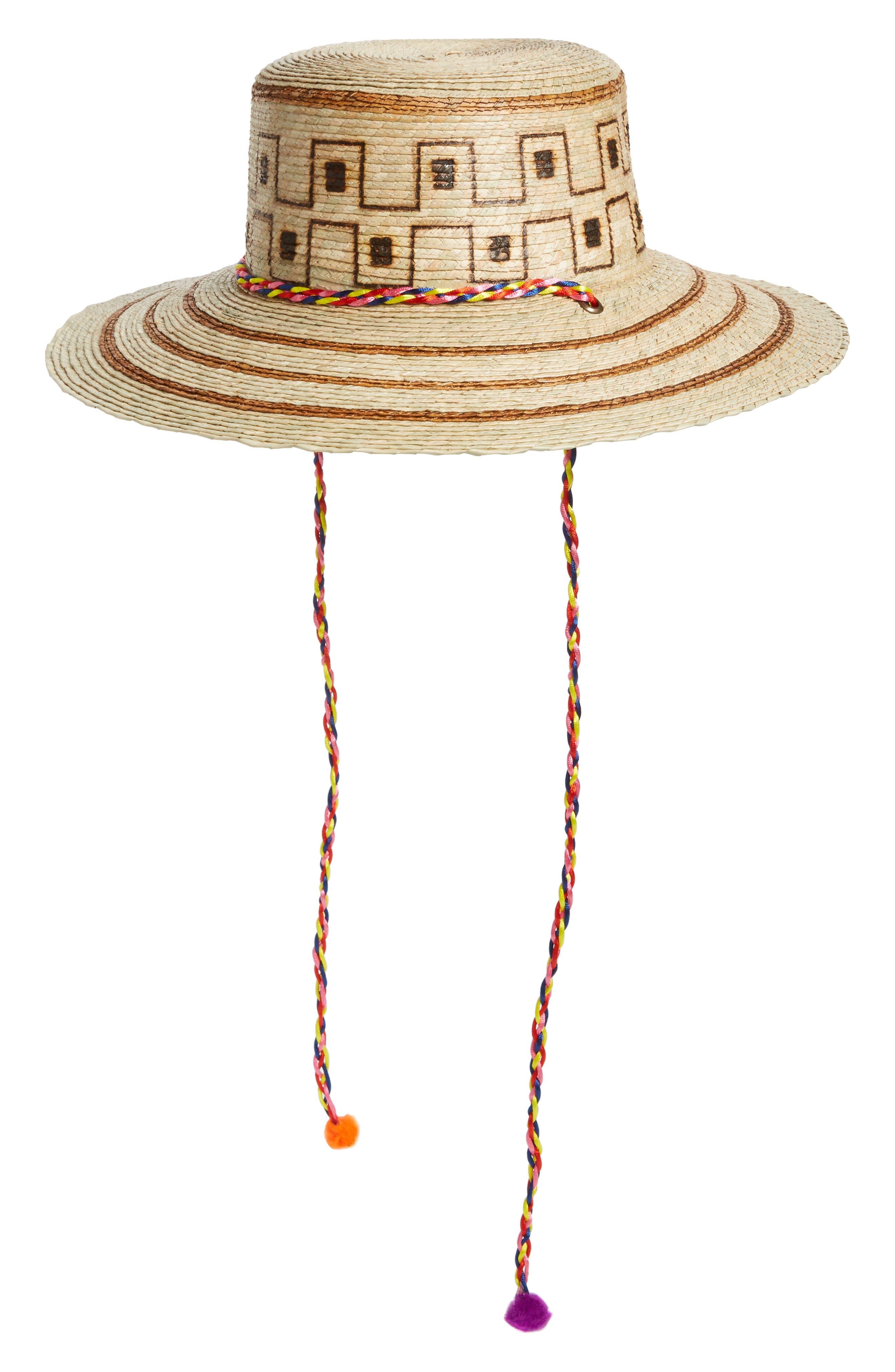 Guadalajara Hat,                             Main thumbnail 1, color,                             Natural