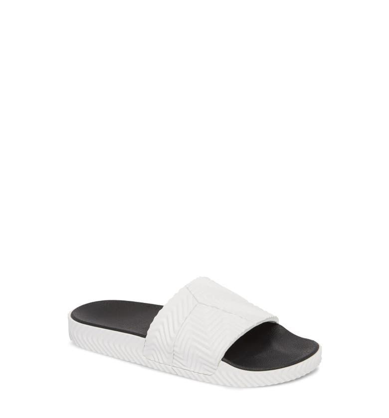 Adidas Originals By Alexander Wang Slides ADILETTE HERRINGBONE SPORT SLIDE