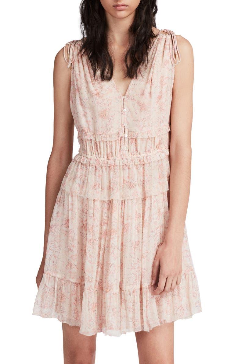 Annie Lanai Floral Dress