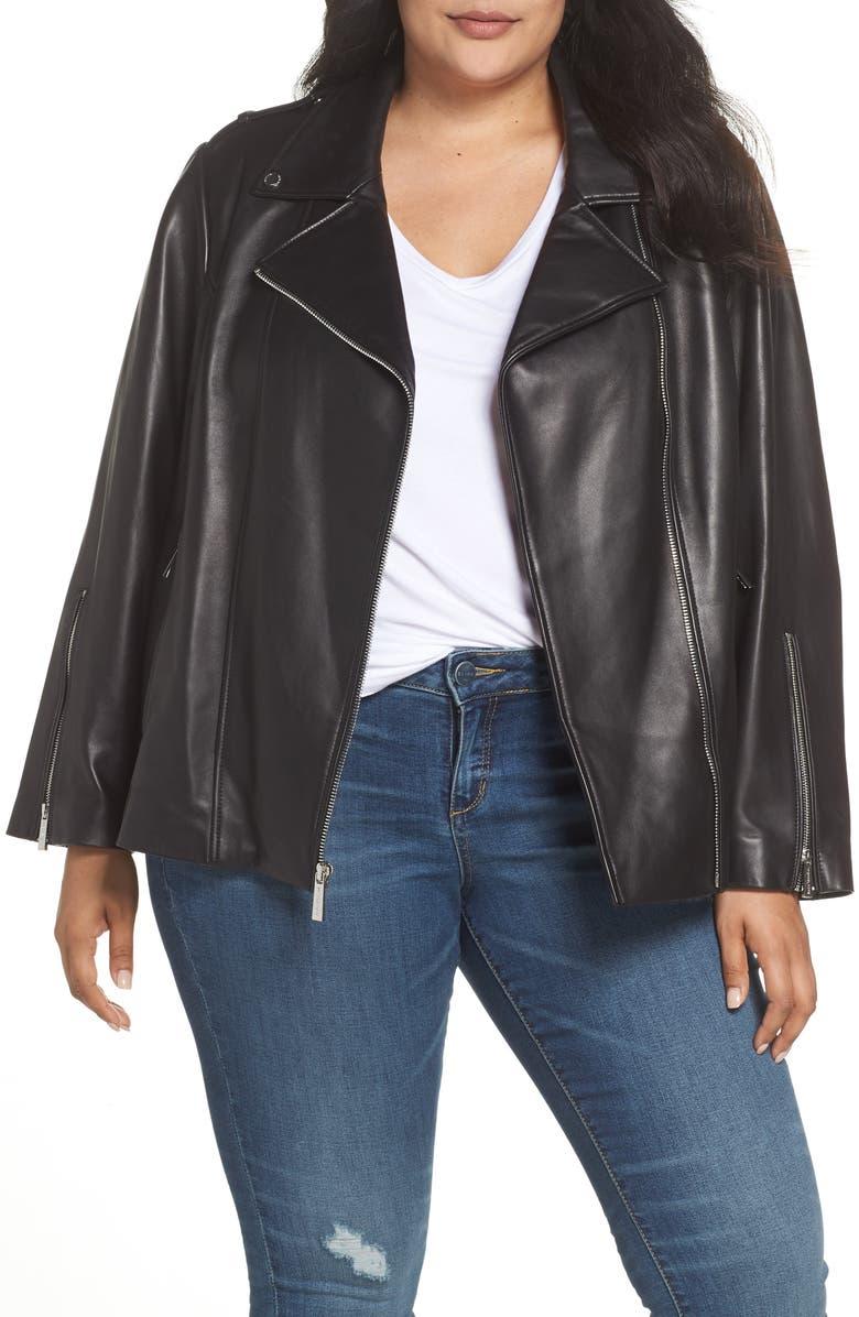 Classic Leather Moto Jacket