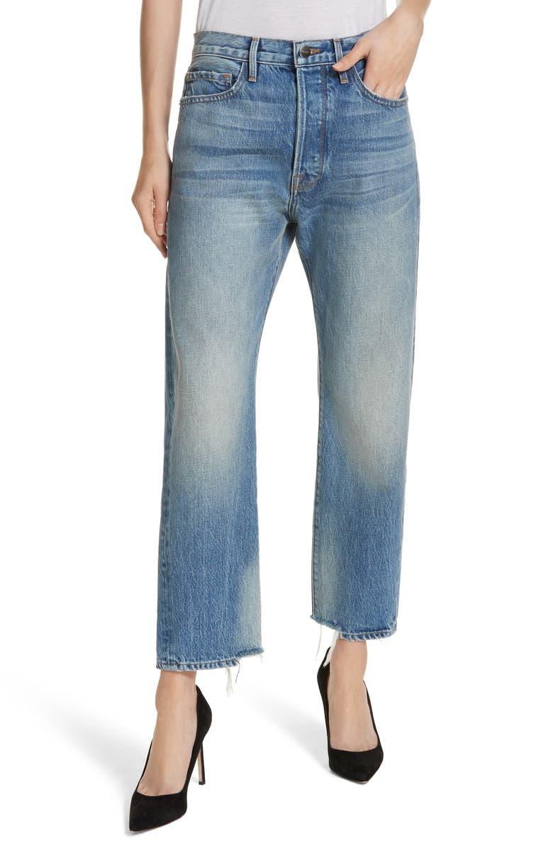 Le Original Staggered Ankle Hem Jeans