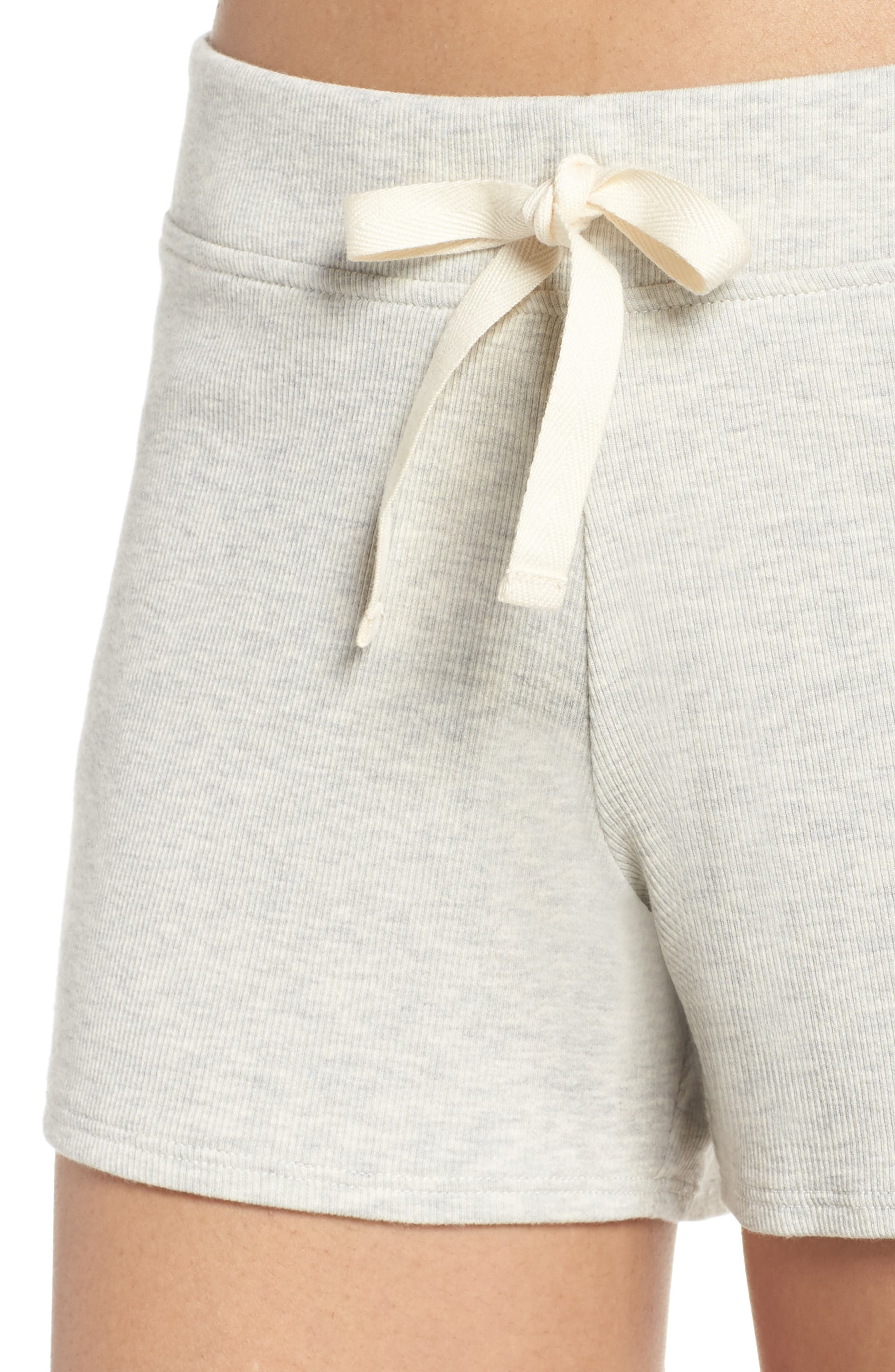 Daydream Lounge Shorts,                             Alternate thumbnail 4, color,                             Grey Heather