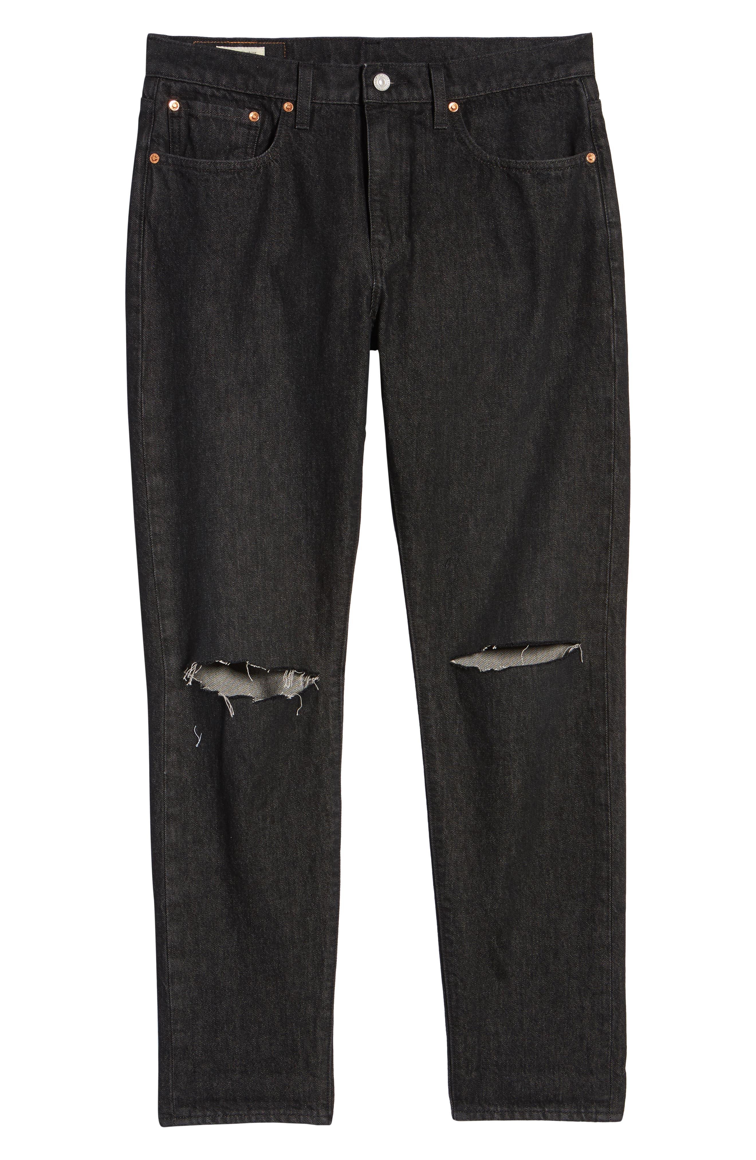 Hi-Ball Straight Fit Jeans,                             Alternate thumbnail 6, color,                             Medium Blue