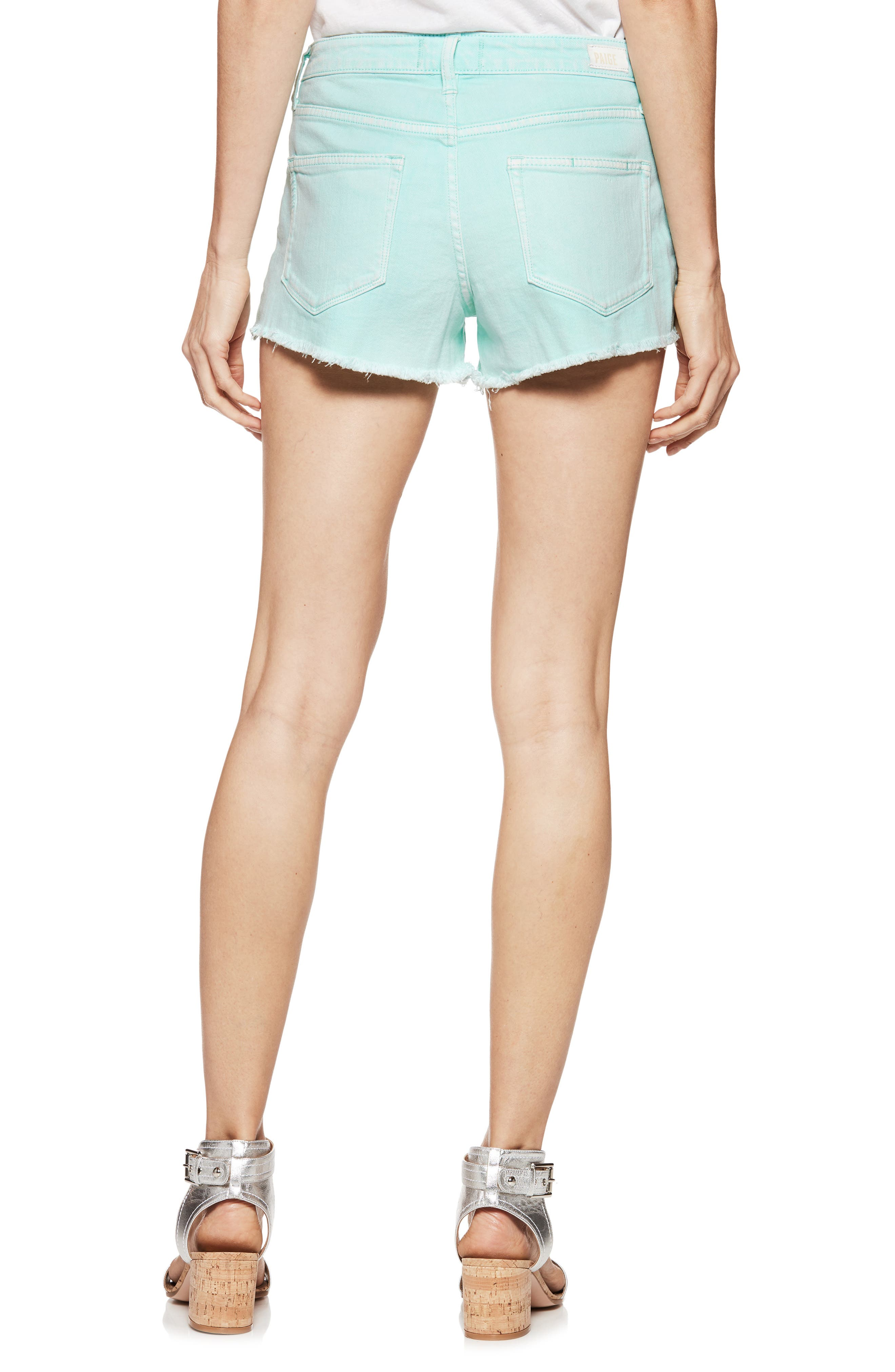 Emmit Relaxed Denim Shorts,                             Alternate thumbnail 2, color,                             Vintage Breeze