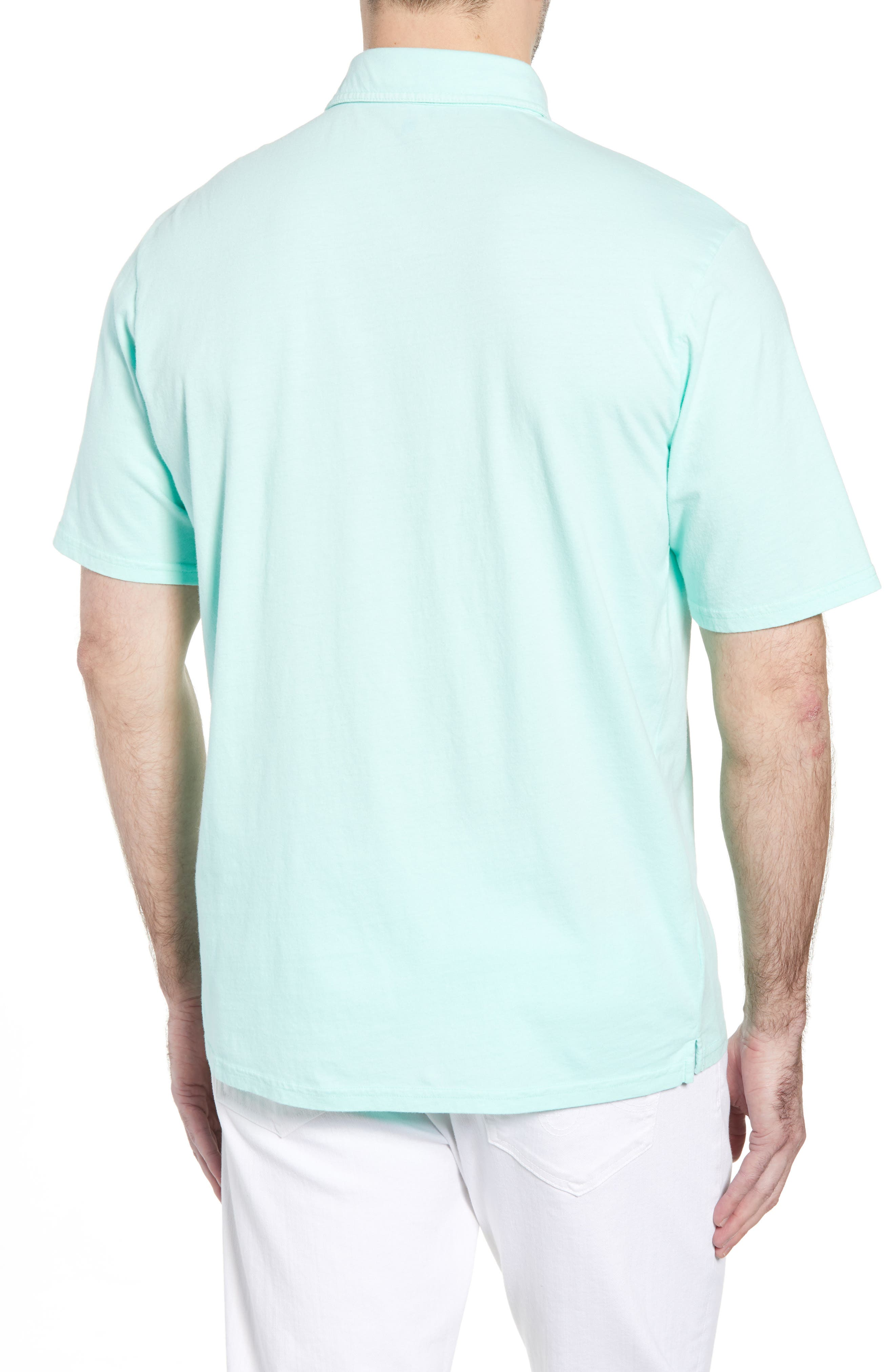 Original Regular Fit Garment Dyed Polo,                             Alternate thumbnail 2, color,                             Fern