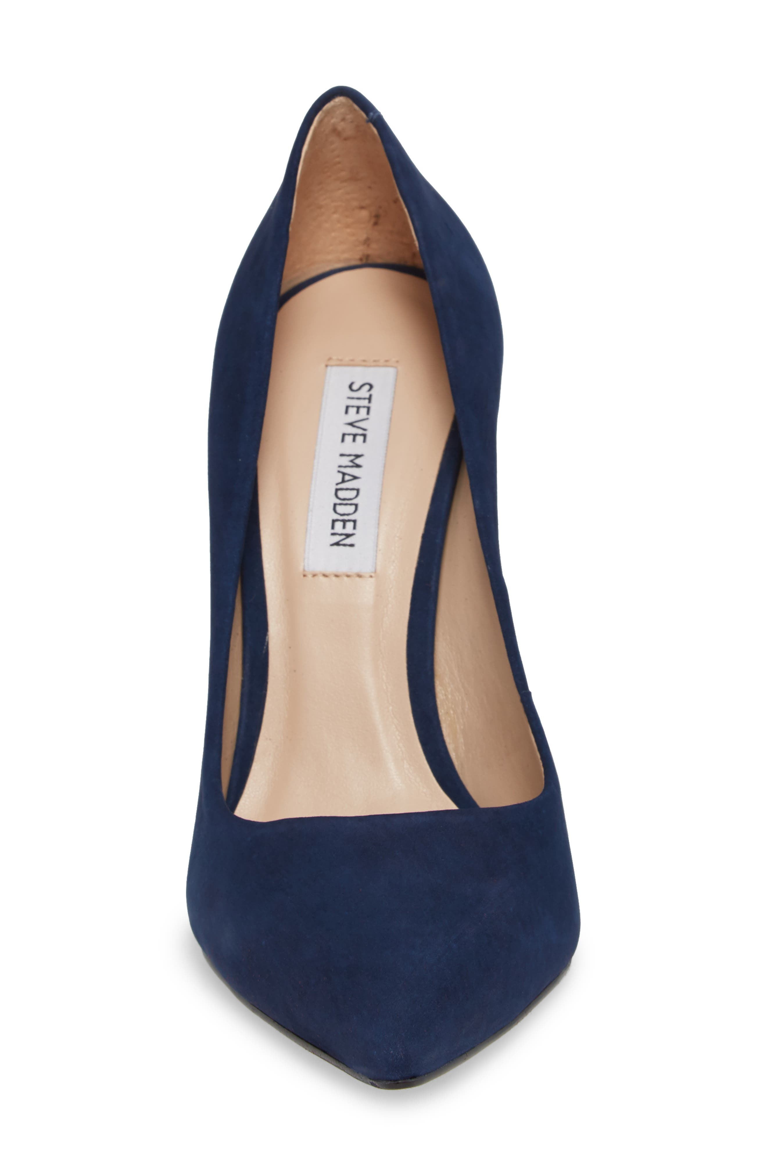 Prance Pump,                             Alternate thumbnail 5, color,                             Navy Nubuck