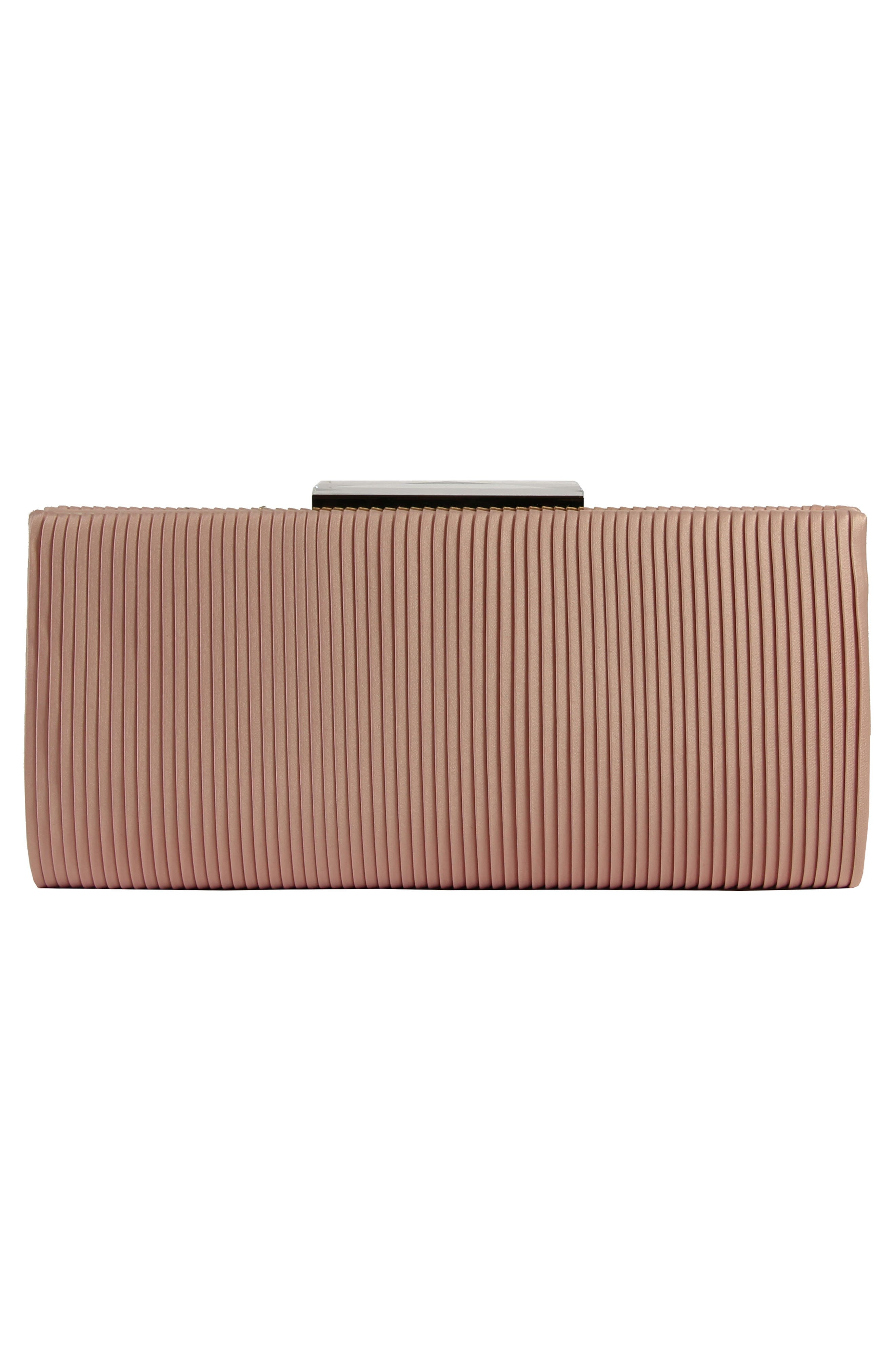 Gale Embellished Clutch,                             Alternate thumbnail 2, color,                             Blossom Pink