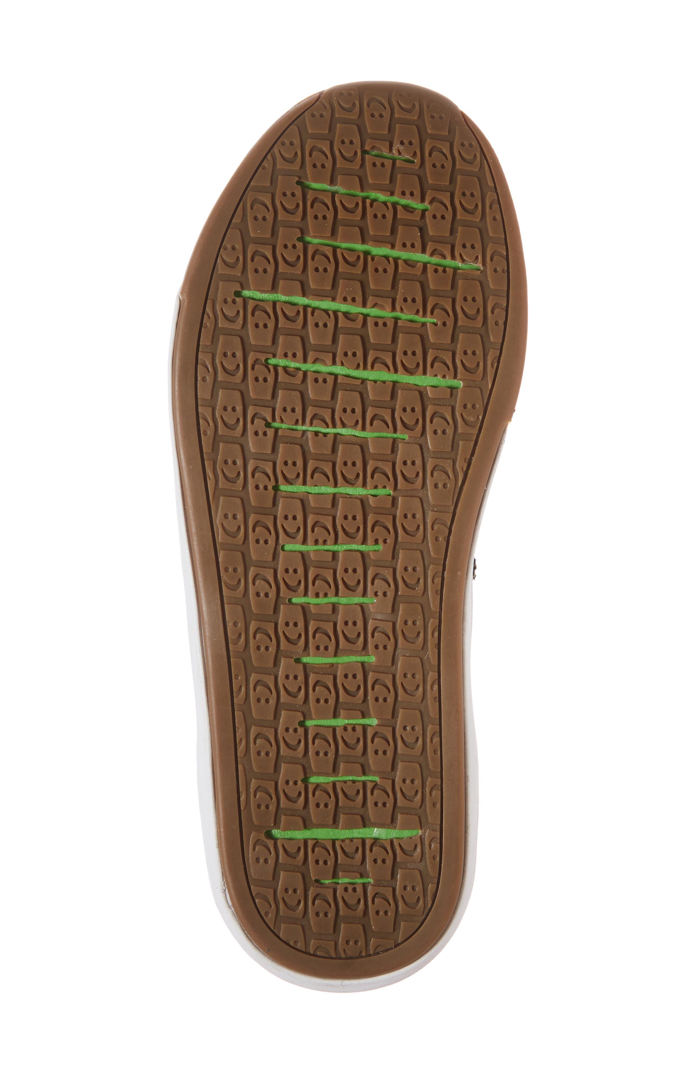 Chiba Quest Knit Sneaker,                             Alternate thumbnail 3, color,                             Brindle/ Black