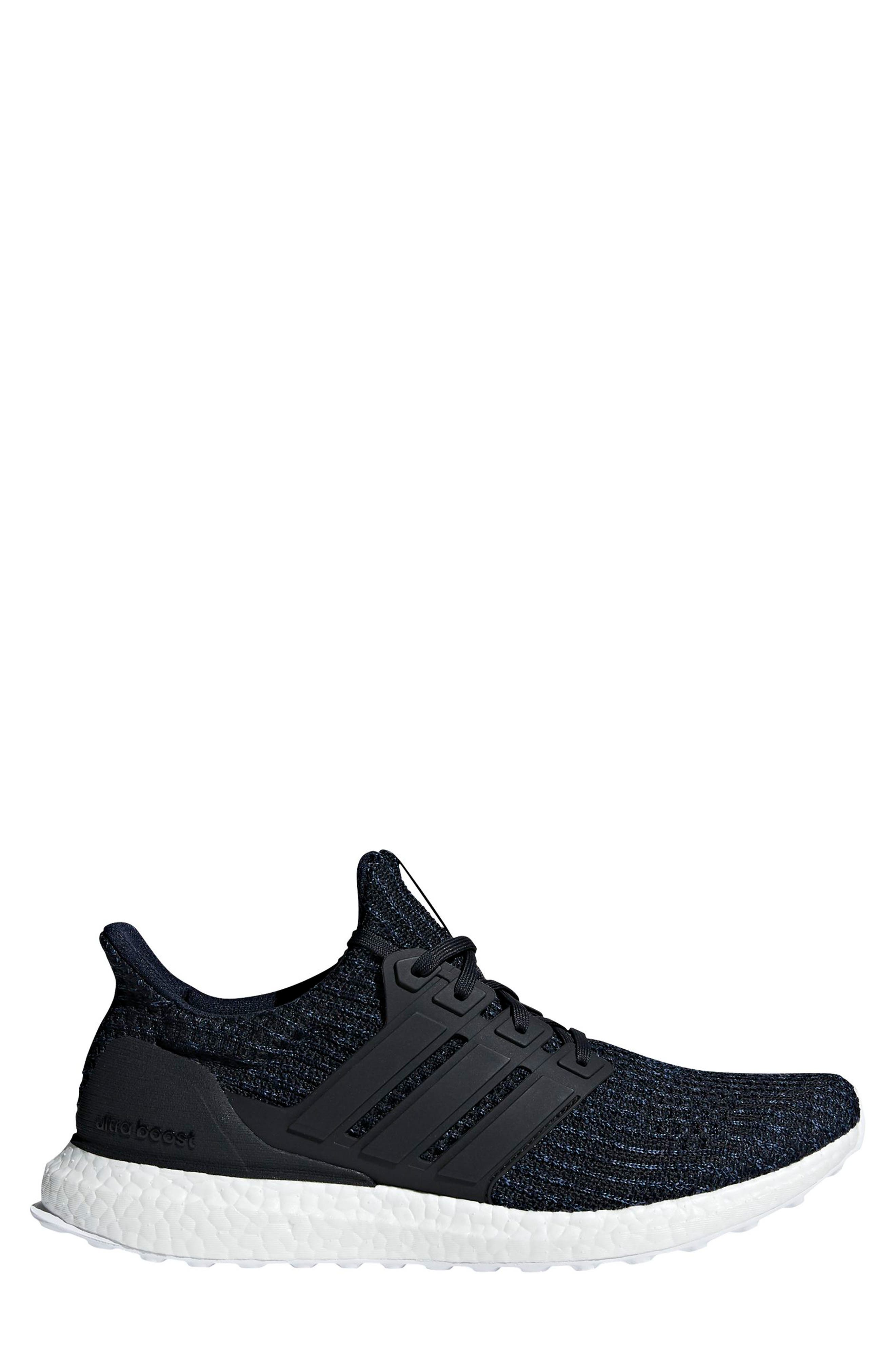 'UltraBoost' Running Shoe,                             Main thumbnail 1, color,                             Legend Ink/ Carbon/ Blue