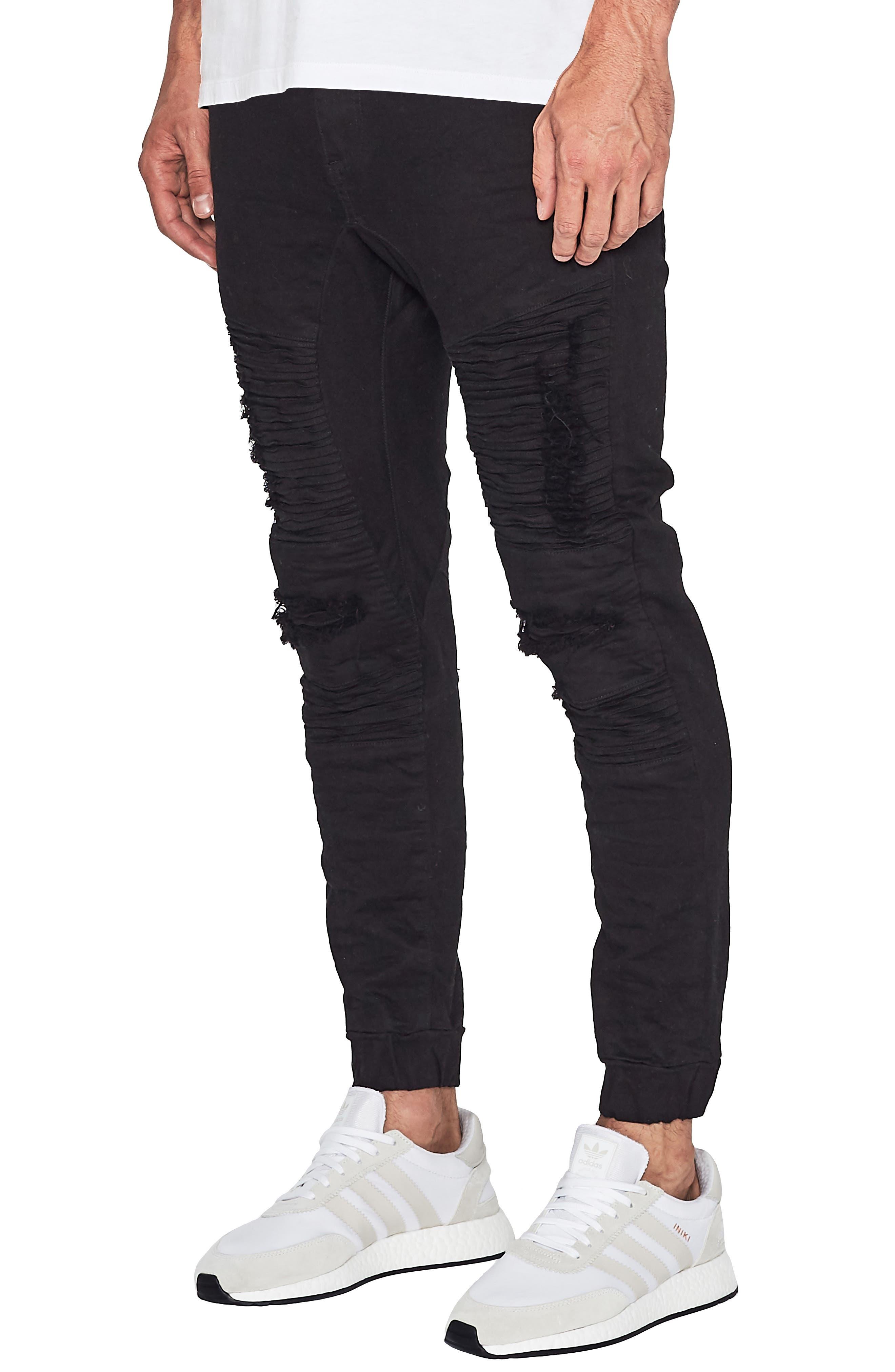 Hellcat Slim Fit Pants,                             Alternate thumbnail 3, color,                             Jet Black