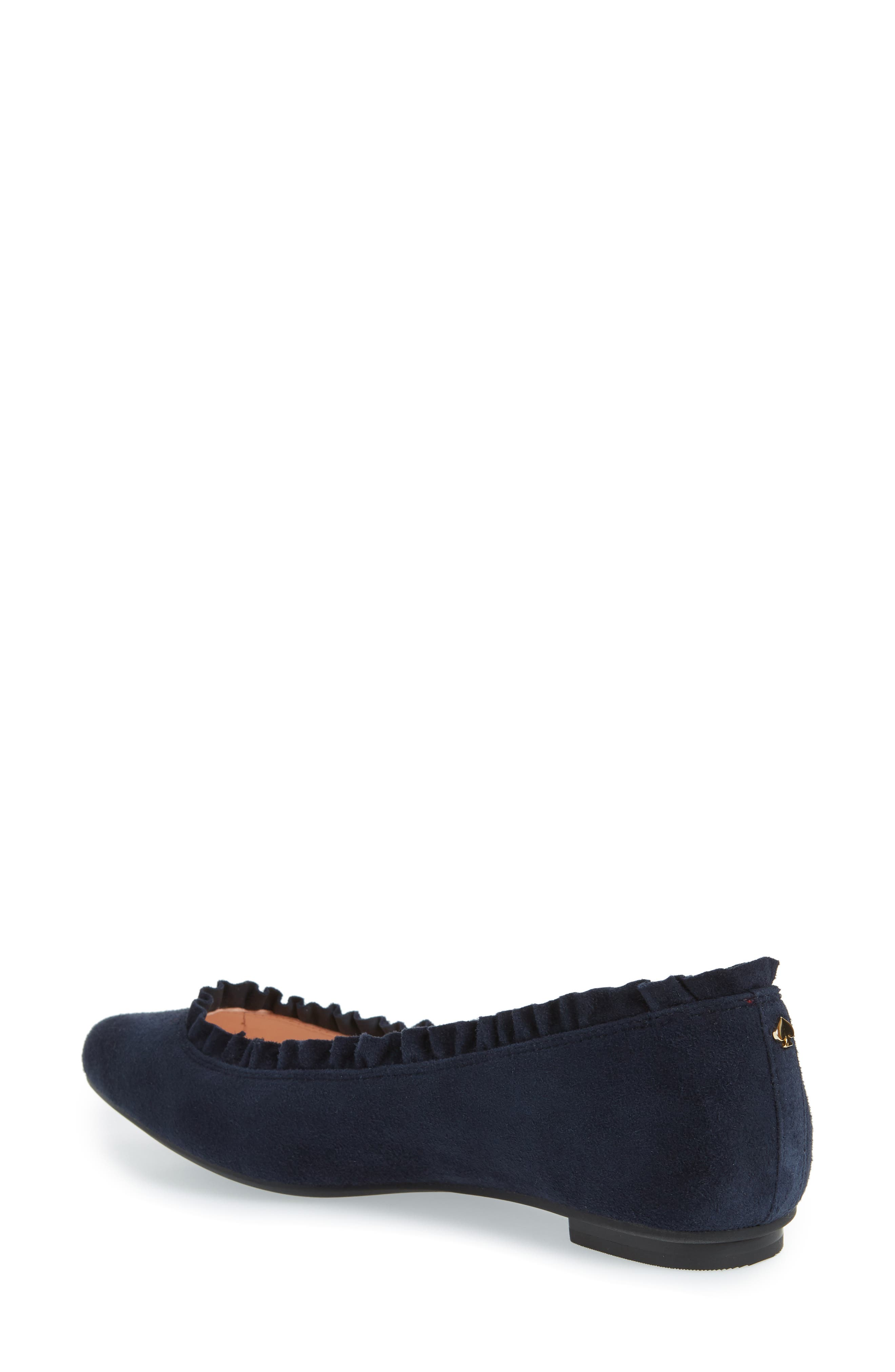 nicole flat,                             Alternate thumbnail 2, color,                             Navy
