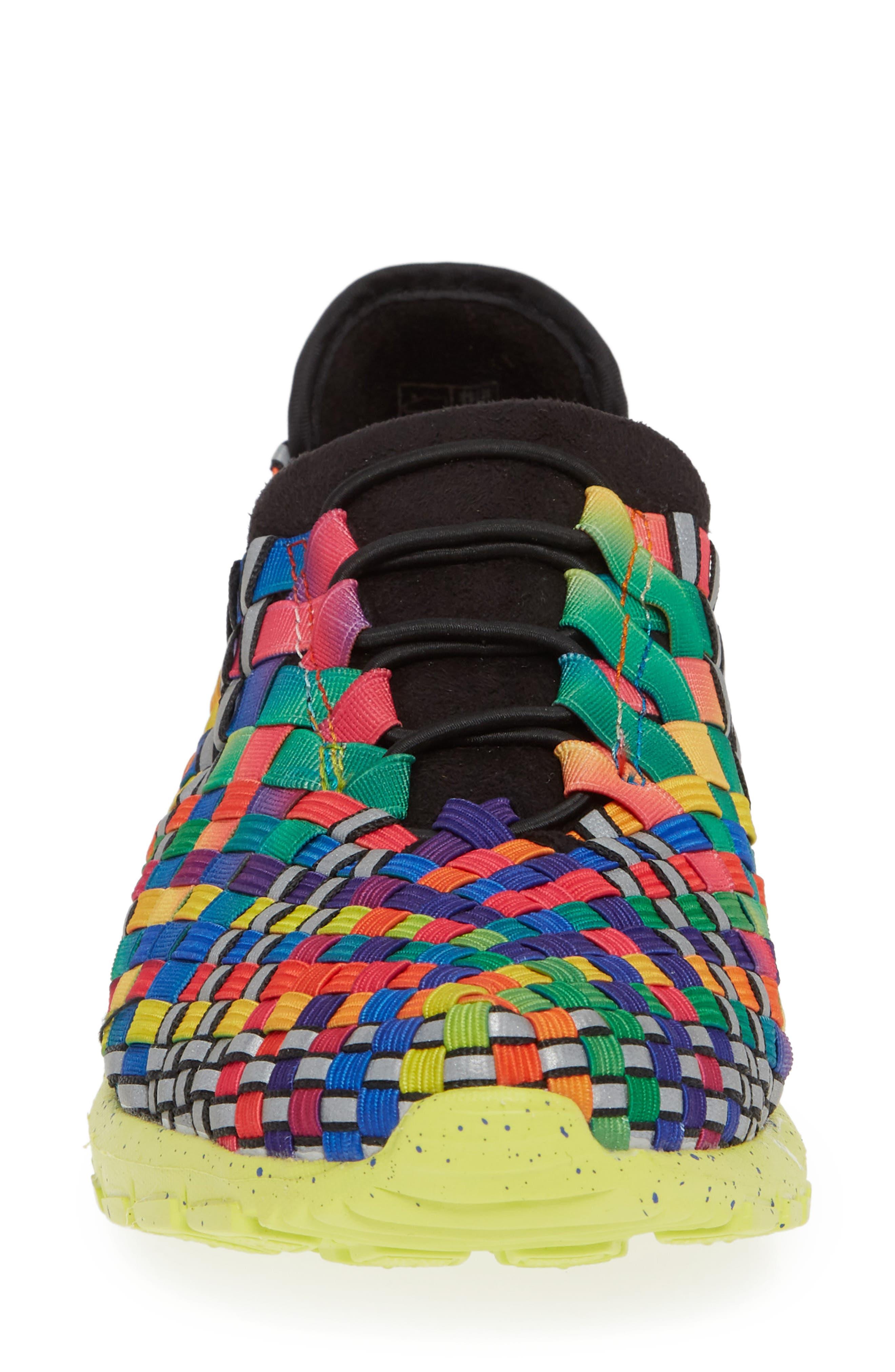 Runners Victoria Sneaker,                             Alternate thumbnail 4, color,                             Black Multi Reflective Fabric