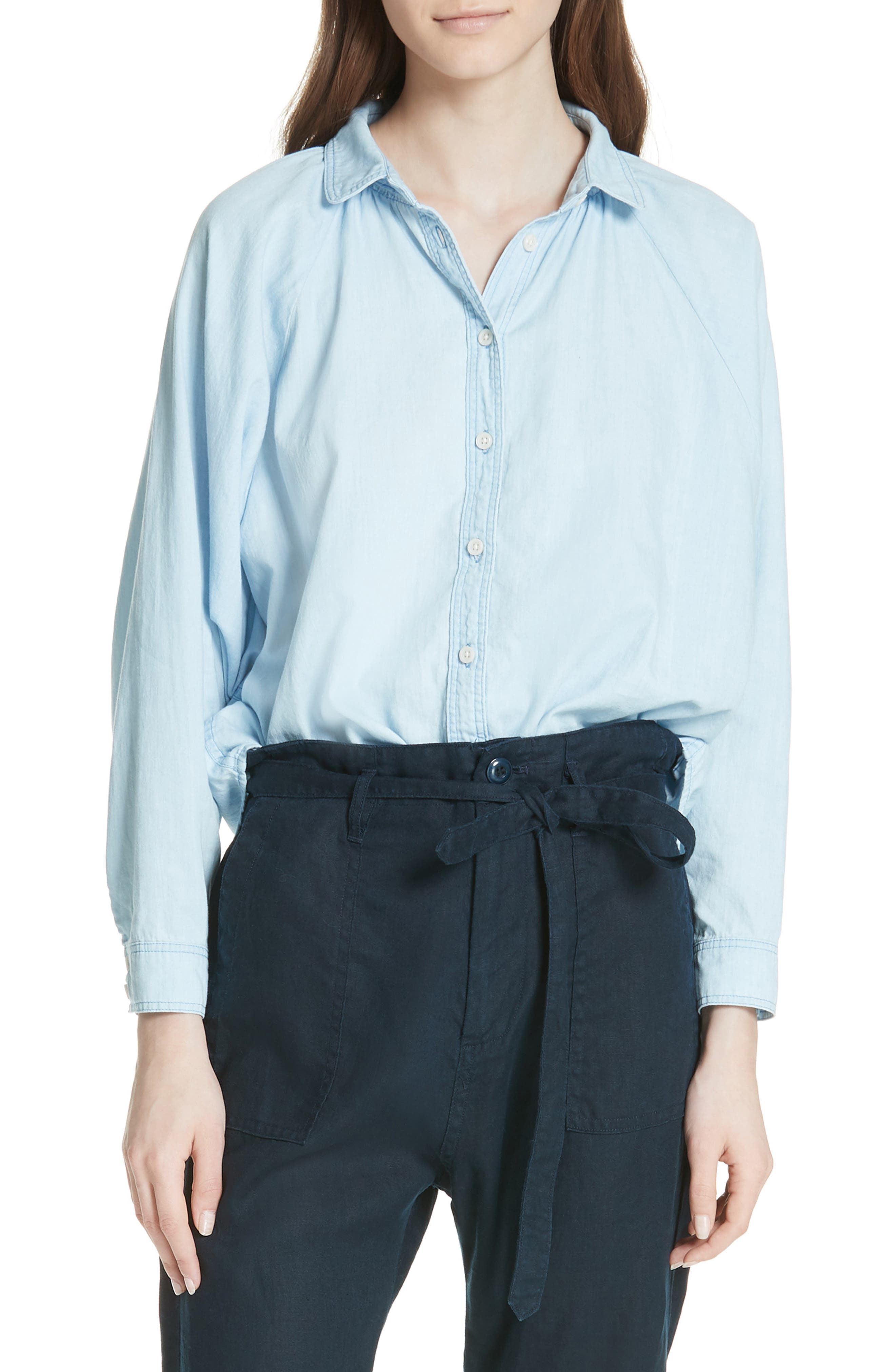 THE GREAT THE ESTATE BUTTON-UP SHIRT