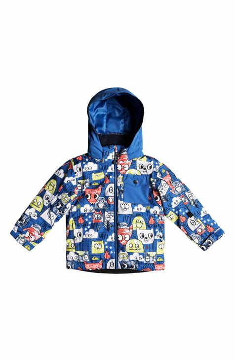 a092831f19bb Quiksilver Little Mission Waterproof Hooded Jacket (Toddler Boys   Little  Boys)