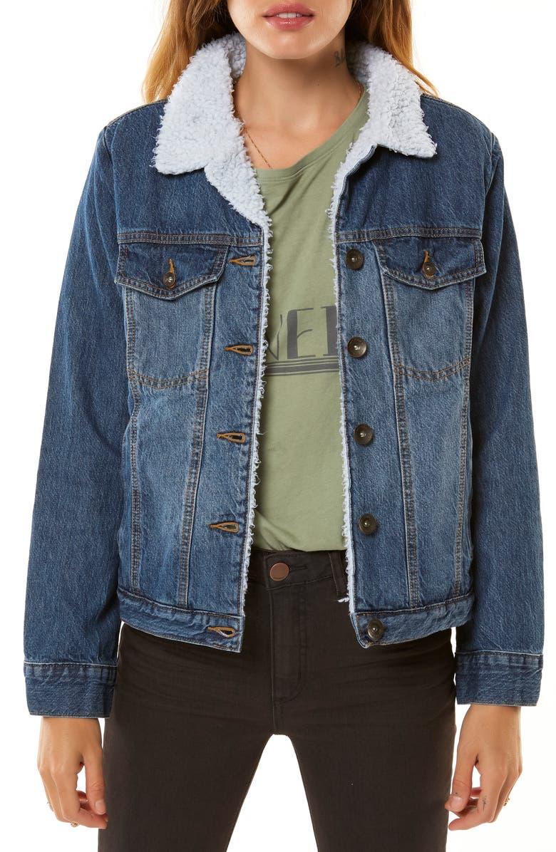Clemente Fleece Lined Denim Jacket