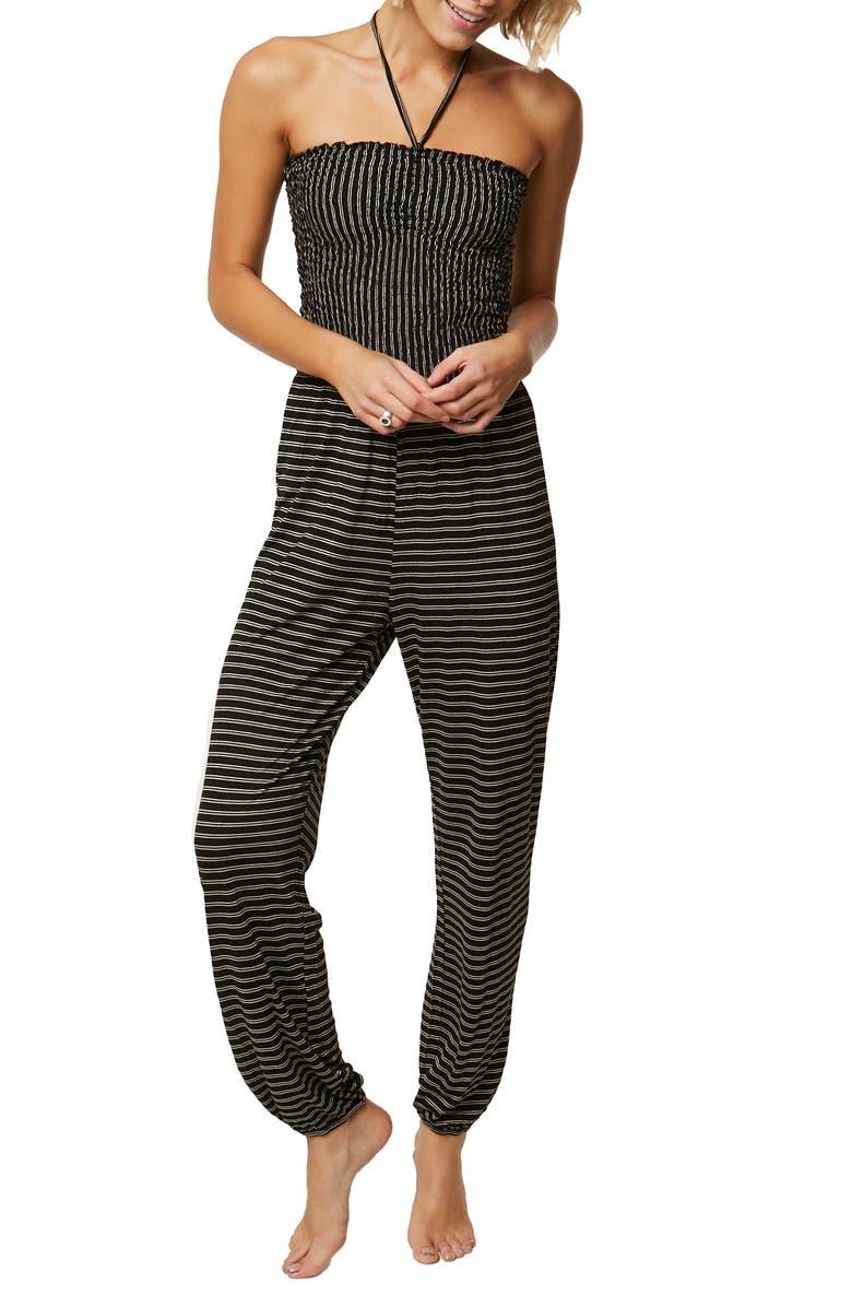 Linque Stripe Knit Jumpsuit
