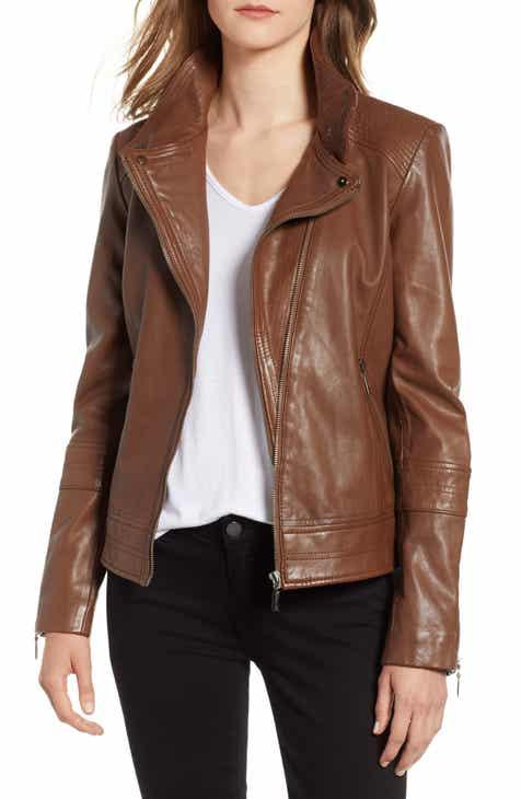 269d49cf7c0 Bernardo Leather Moto Jacket