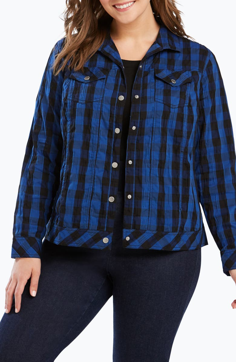 Tina Buffalo Plaid Jacket