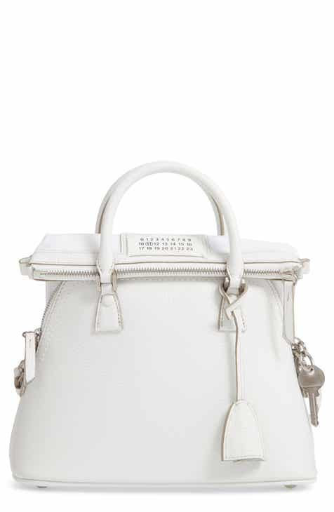 Maison Margiela Small 5AC Calfskin Leather Handbag c708f02f101e2