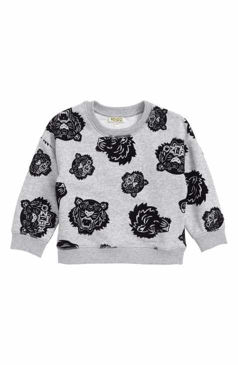 48e5a16f KENZO Allover Tiger Sweatshirt (Toddler Girls, Little Girls & Big Girls)