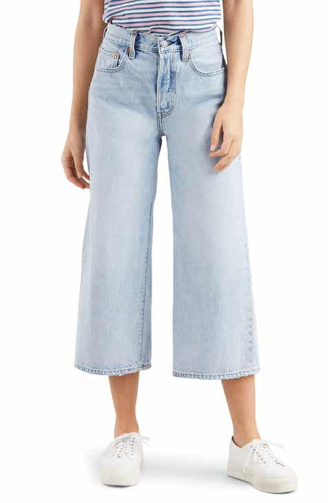 Levi's? High Water Wide Leg Jeans (Throwing Shade)