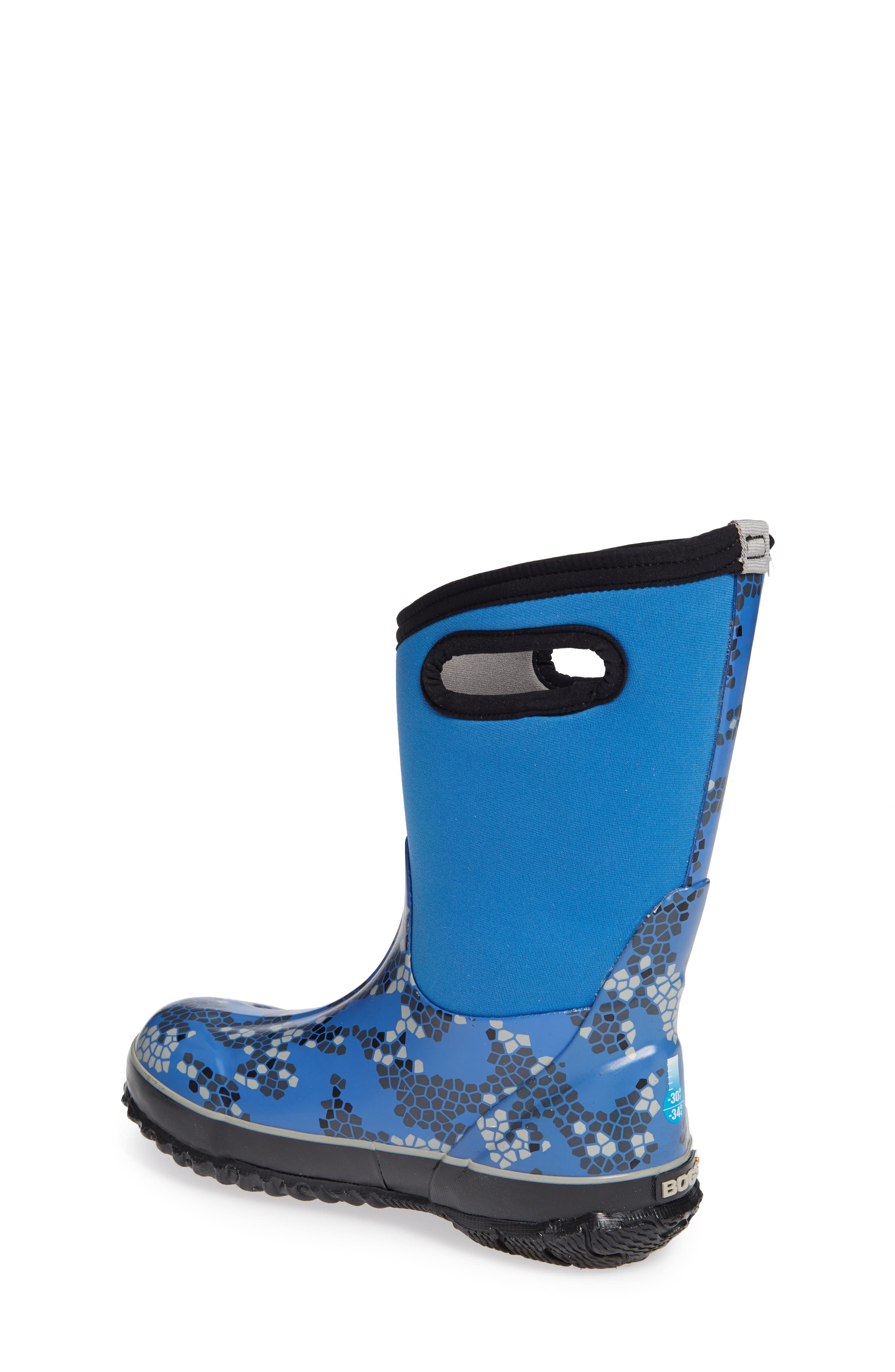Classic Axel Insulated Waterproof Boot,                             Alternate thumbnail 2, color,                             Blue Multi